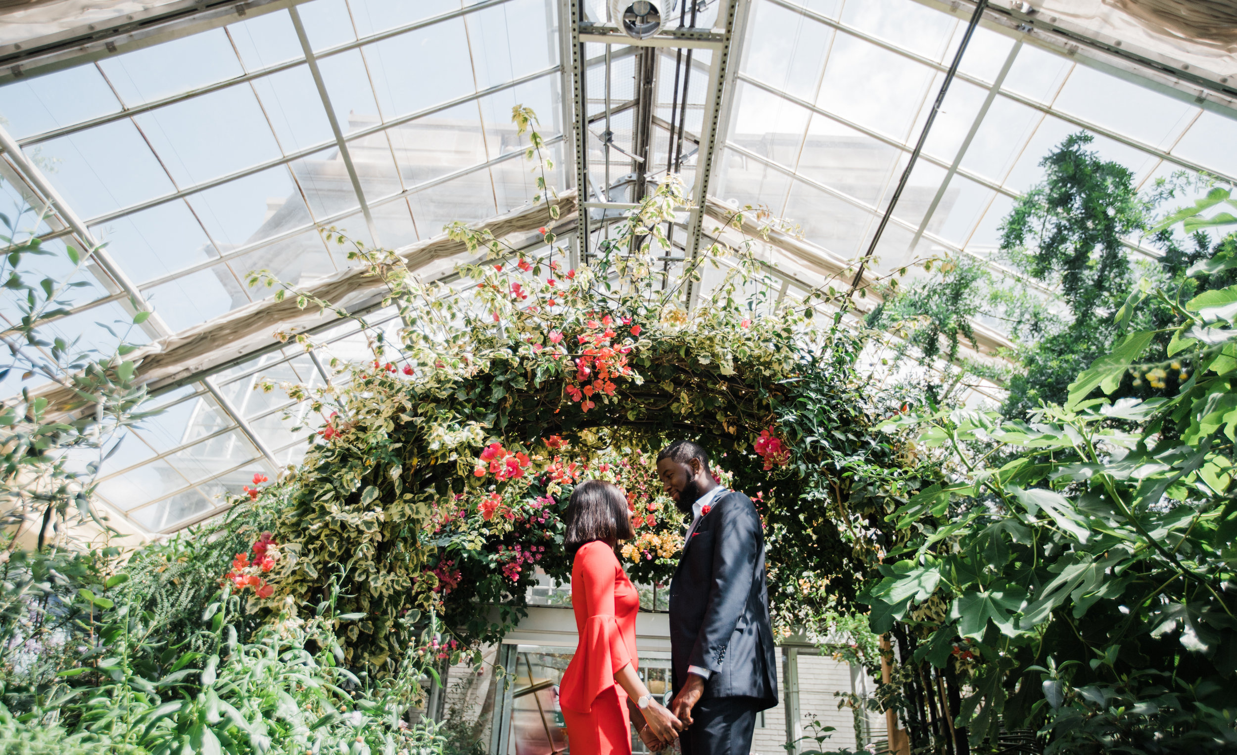 Epic and Creative Engagement Photos at The National Conservatory in Washington DC by Megapixels Media