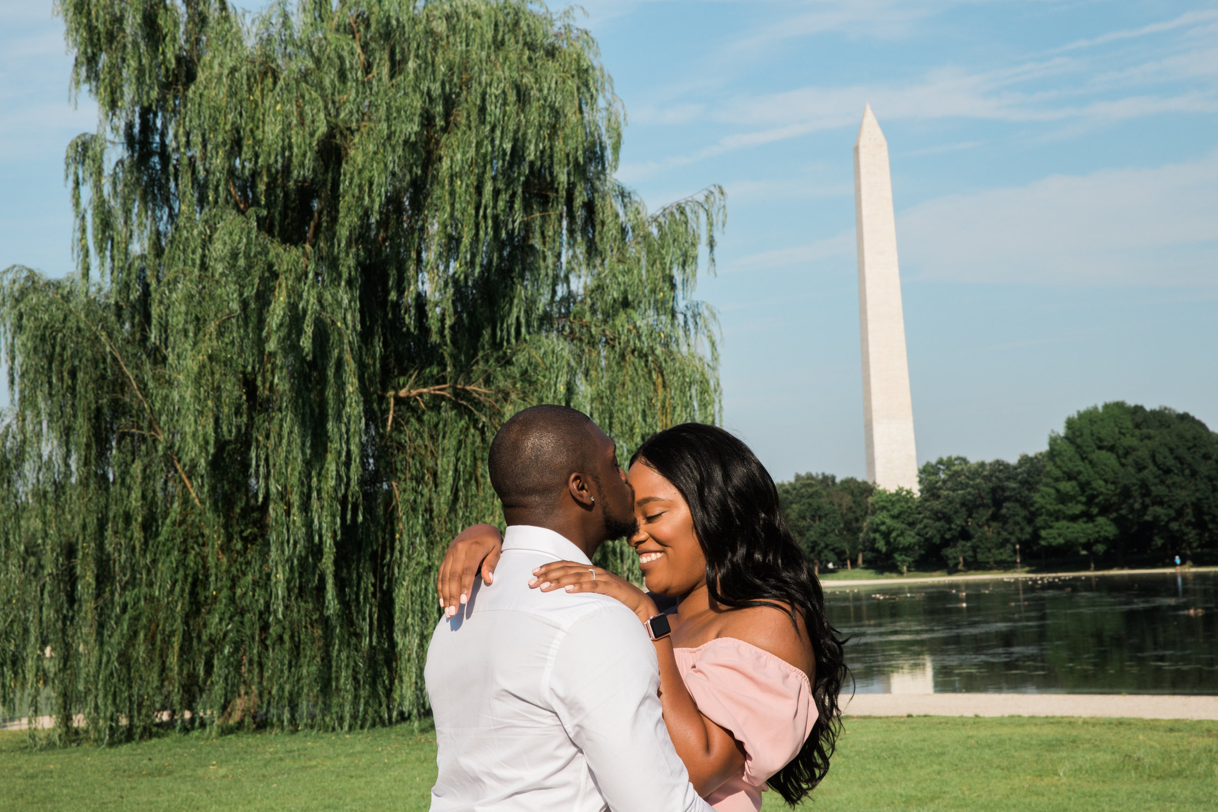 DC Engagement at the Lincoln Memorial