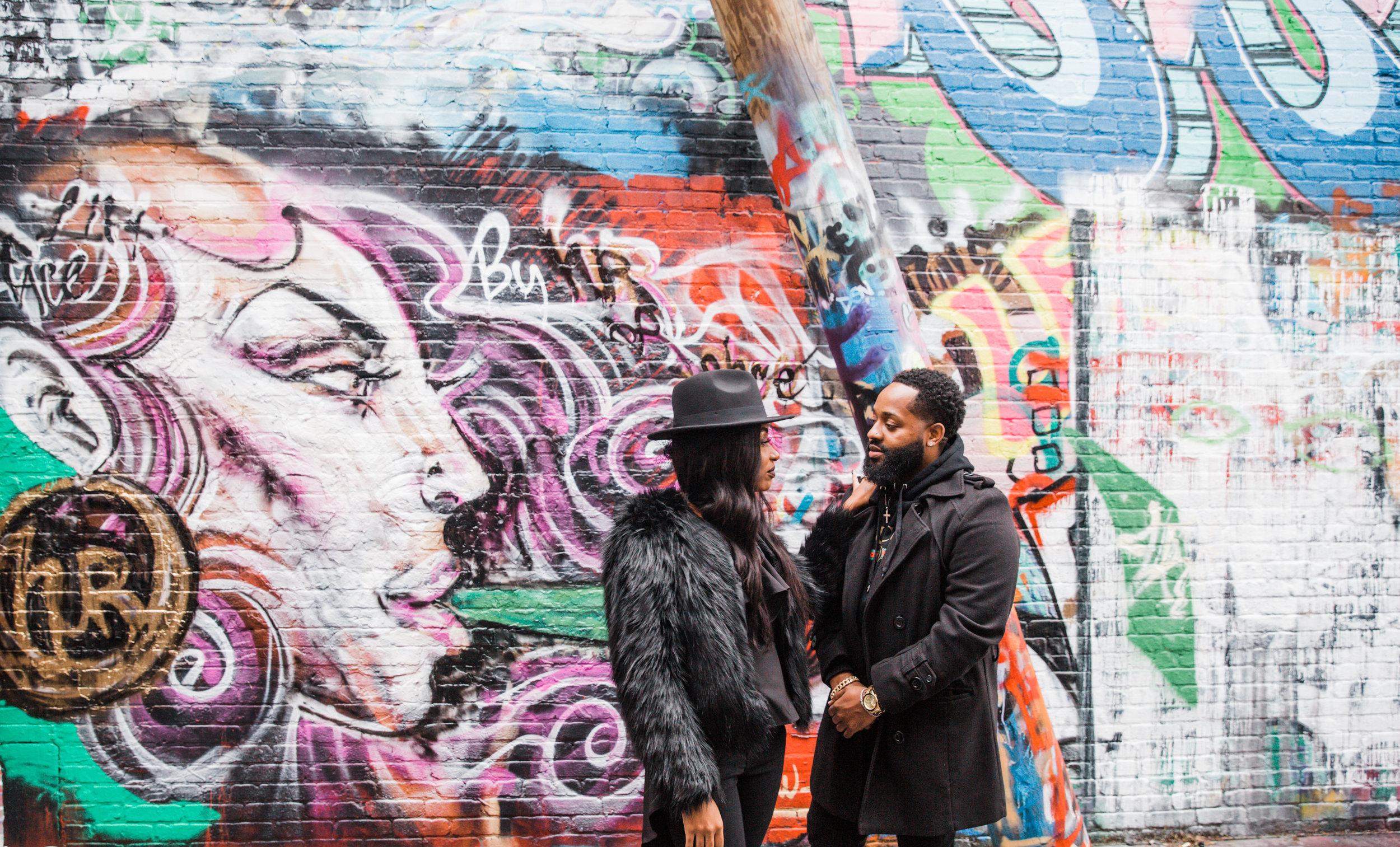 Creative Baltimore Graffiti Alley Engagement Session Megapixels Media Photography-35.jpg