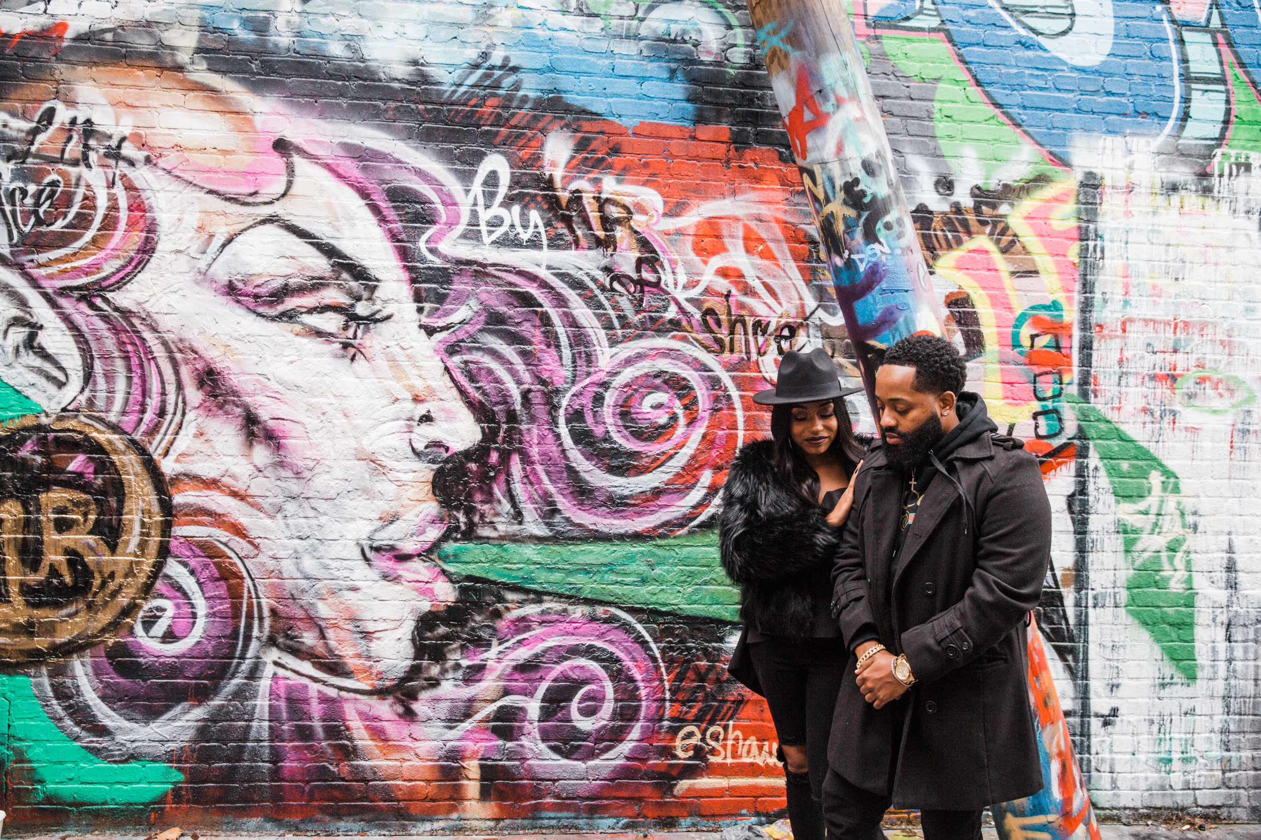 Creative Baltimore Graffiti Alley Engagement Session Megapixels Media Photography-36.jpg