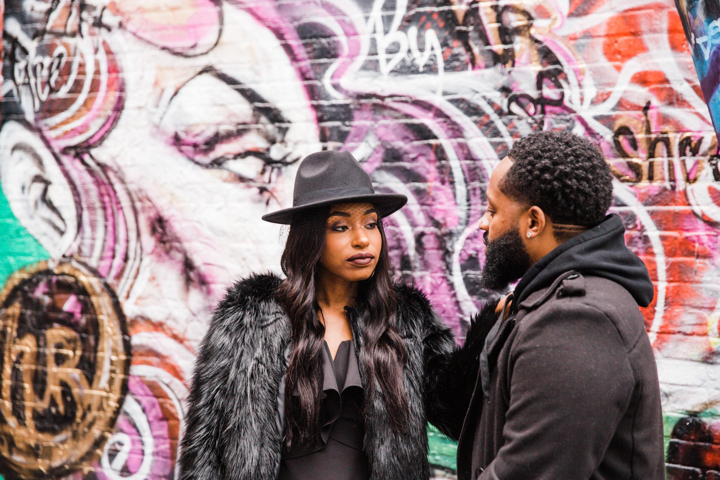 Creative Baltimore Graffiti Alley Engagement Session Megapixels Media Photography-37.jpg