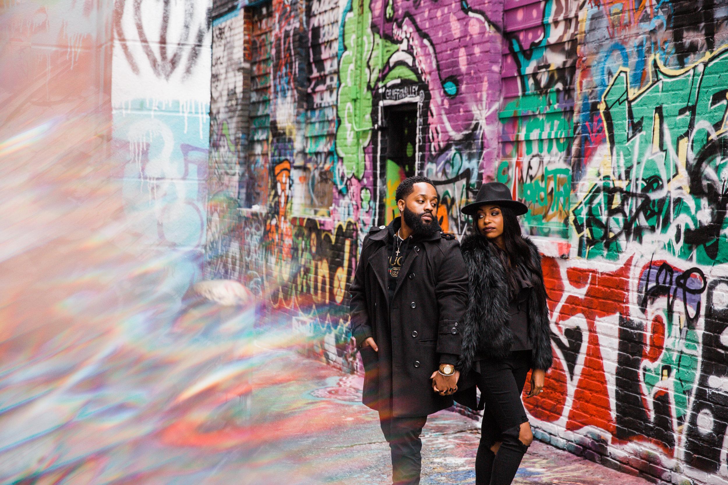 Creative Baltimore Graffiti Alley Engagement Session Megapixels Media Photography-39.jpg