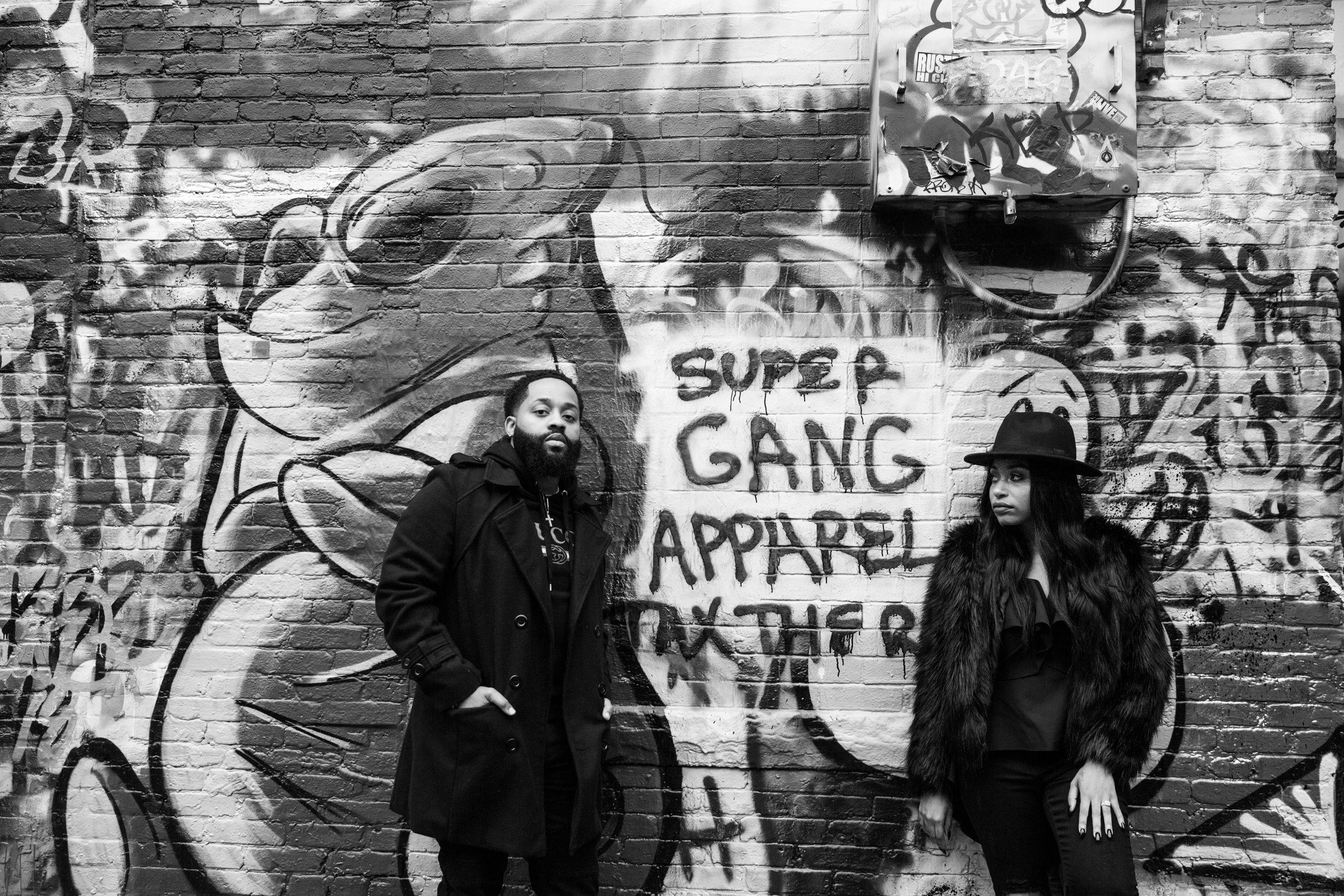 Creative Baltimore Graffiti Alley Engagement Session Megapixels Media Photography-43.jpg