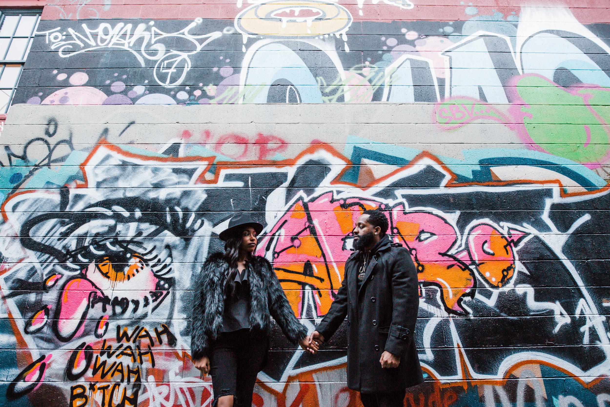 Creative Baltimore Graffiti Alley Engagement Session Megapixels Media Photography-44.jpg