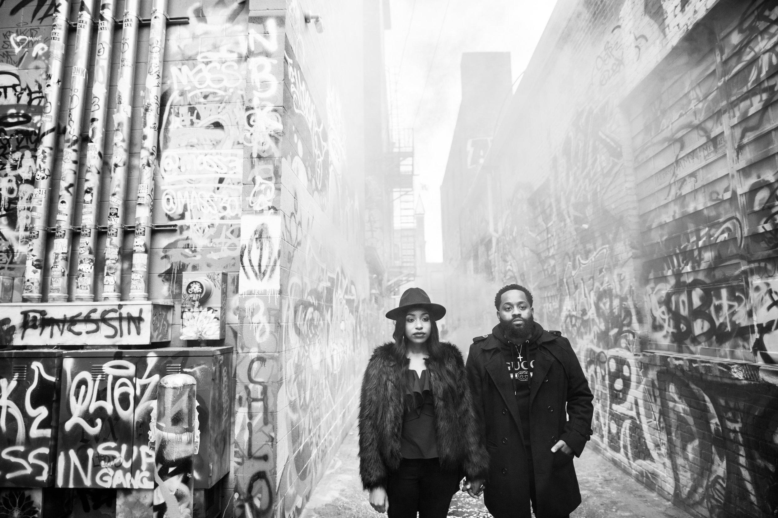 Creative Baltimore Graffiti Alley Engagement Session Megapixels Media Photography-50.jpg