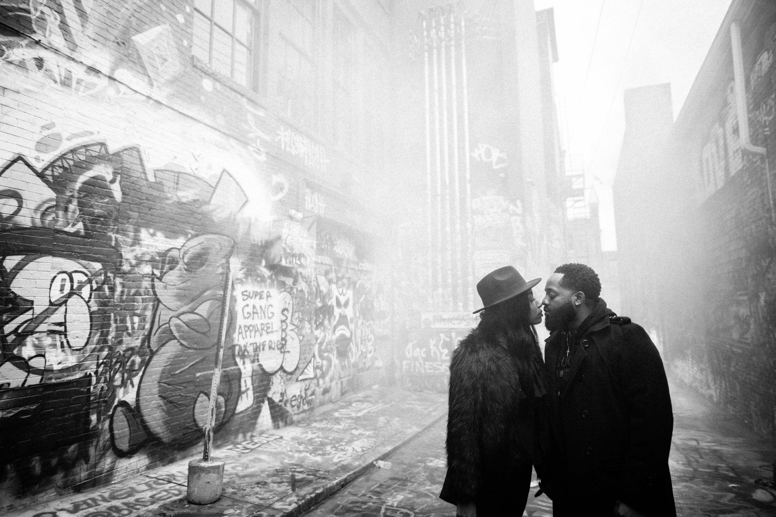 Creative Baltimore Graffiti Alley Engagement Session Megapixels Media Photography-51.jpg