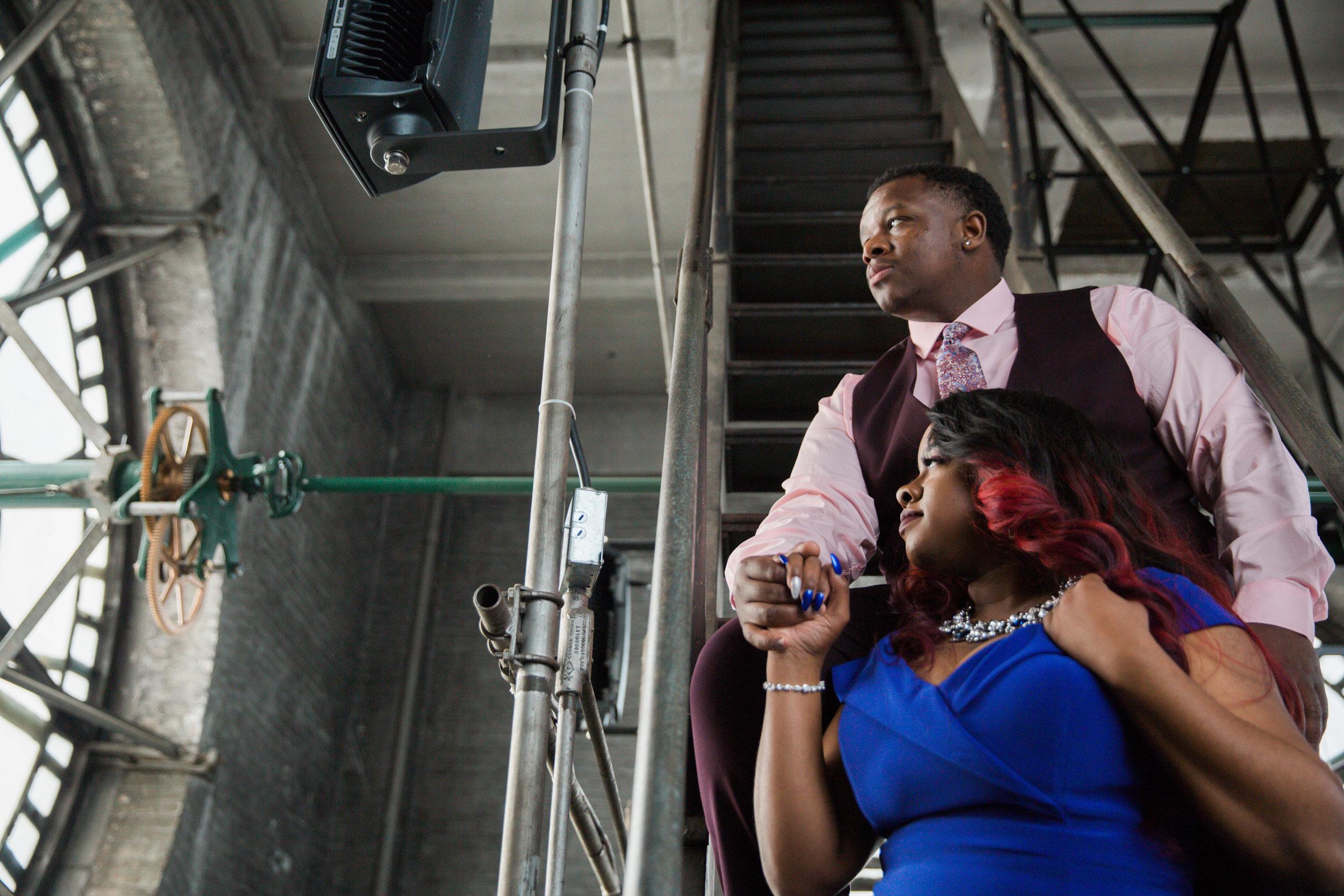 Meagan Terrell Bromo Arts Tower Engagement Session Megapixels media Photography-37.jpg