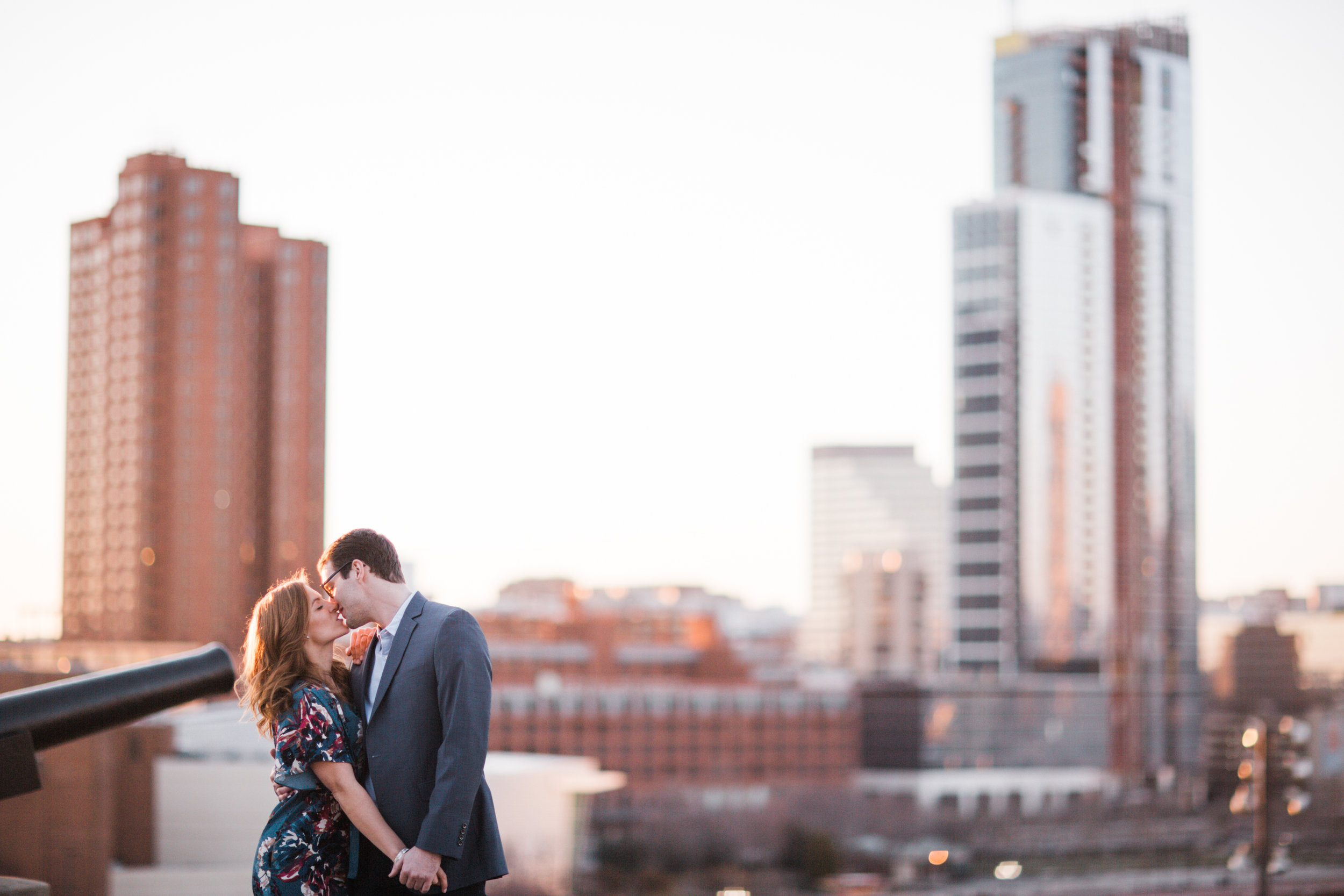 Megapixels Media Best Destination Engagement Photography in Federal Hill Baltimore Skyline.jpg