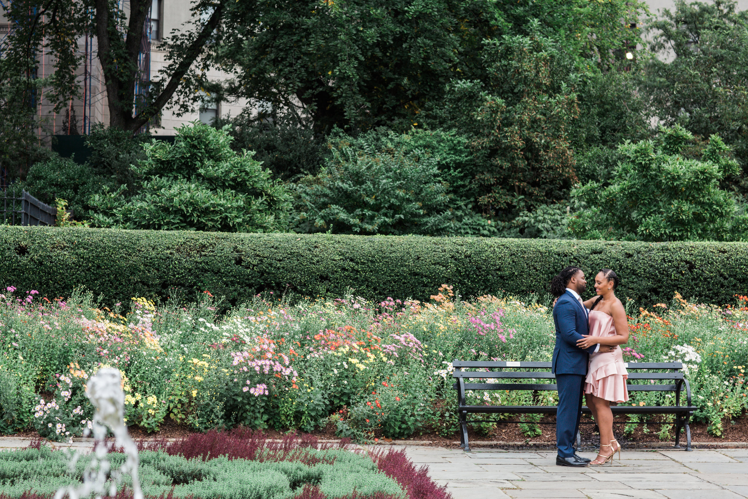 Megapixels Media Best Destination Engagement Photography in New York City Central Park Untemeyer Garden.jpg