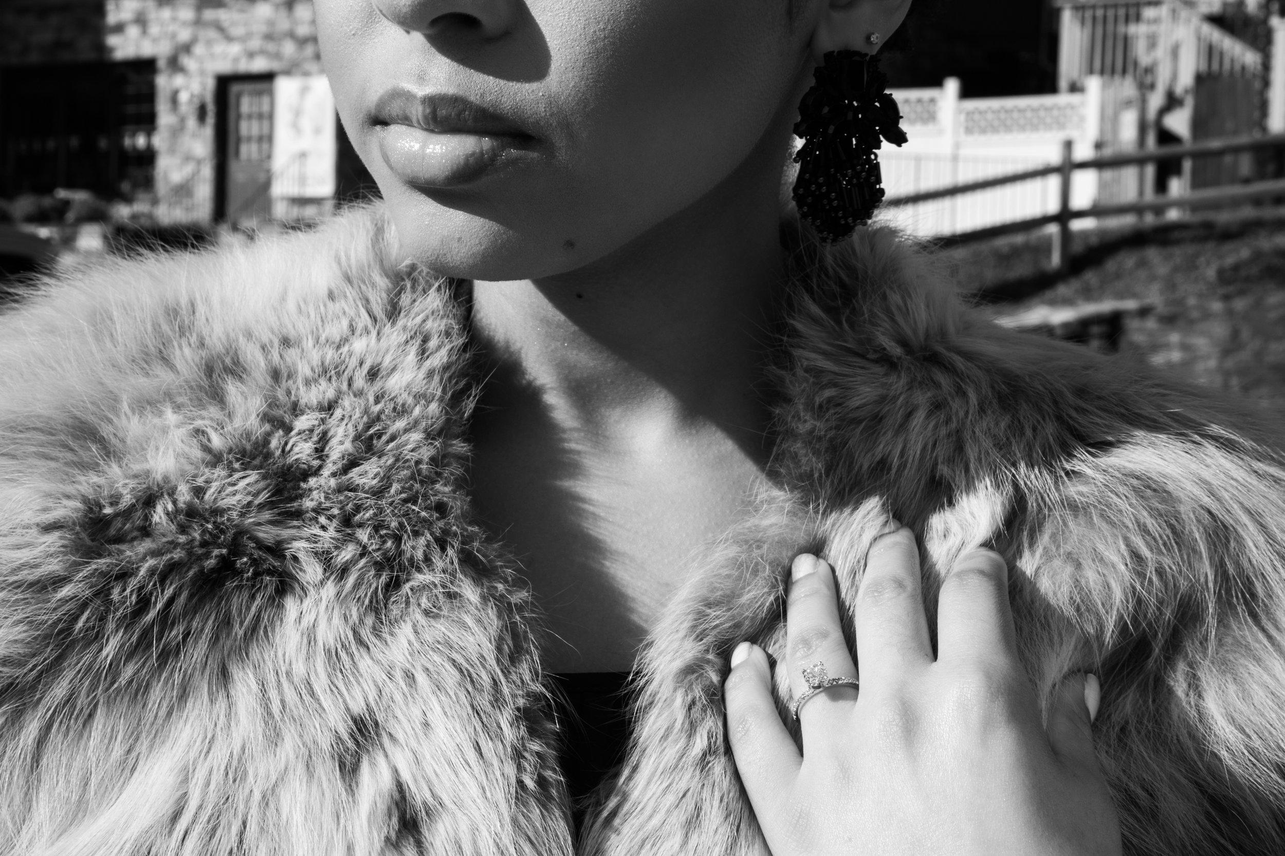 Natural Hair Black Bride in Baltimore Main Street Ballroom Engagement Session by Megapixels Media Photography-21.jpg
