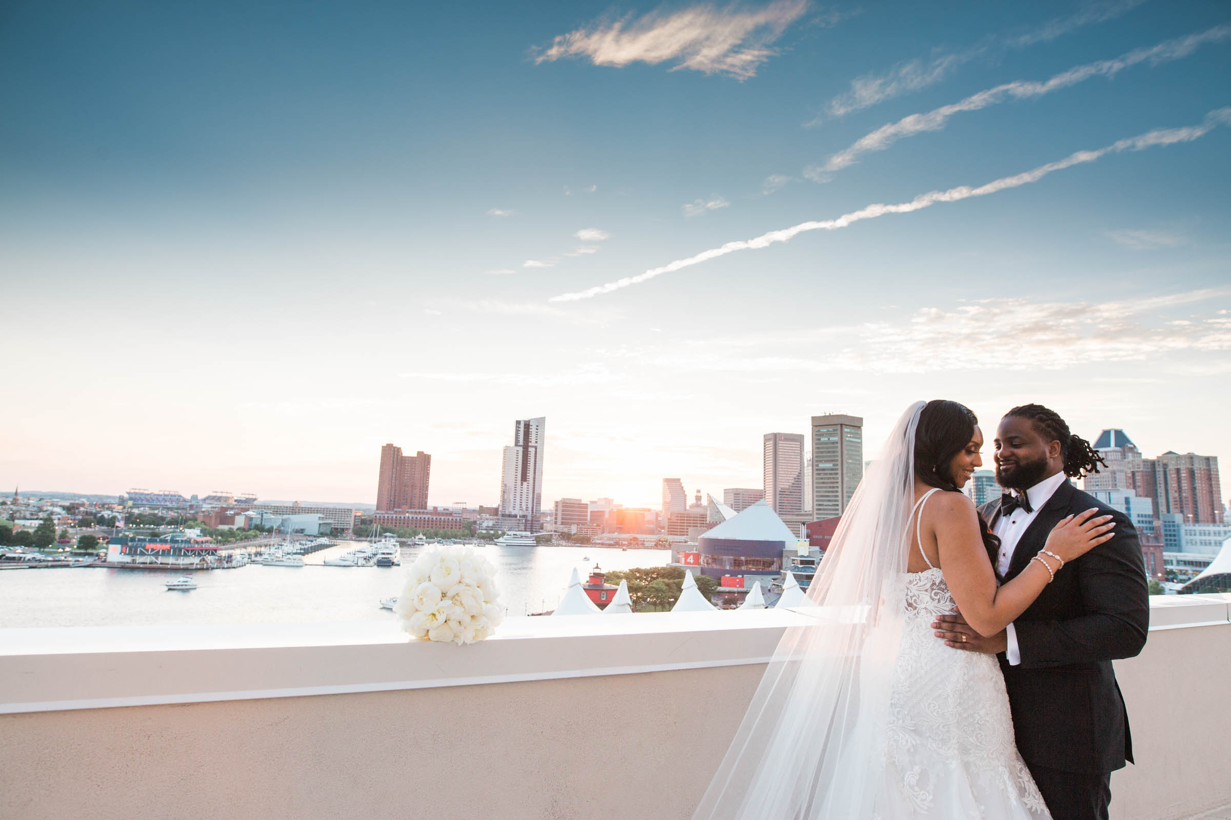 Best Wedding Photographs in Baltimore City Megapixels Media Marriott Waterfront.jpg