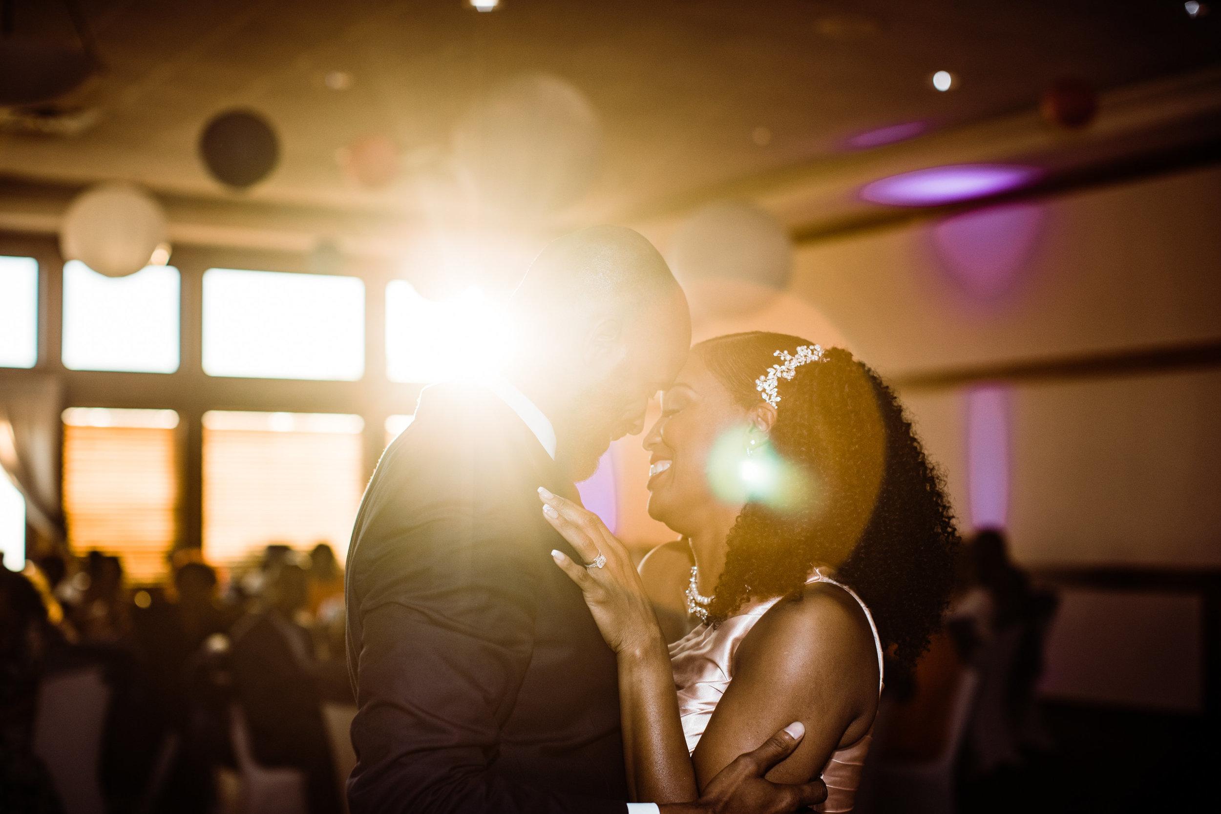 Best Montgomery County Wedding Photographer Megapixels Media black natural hair bride and groom .jpg