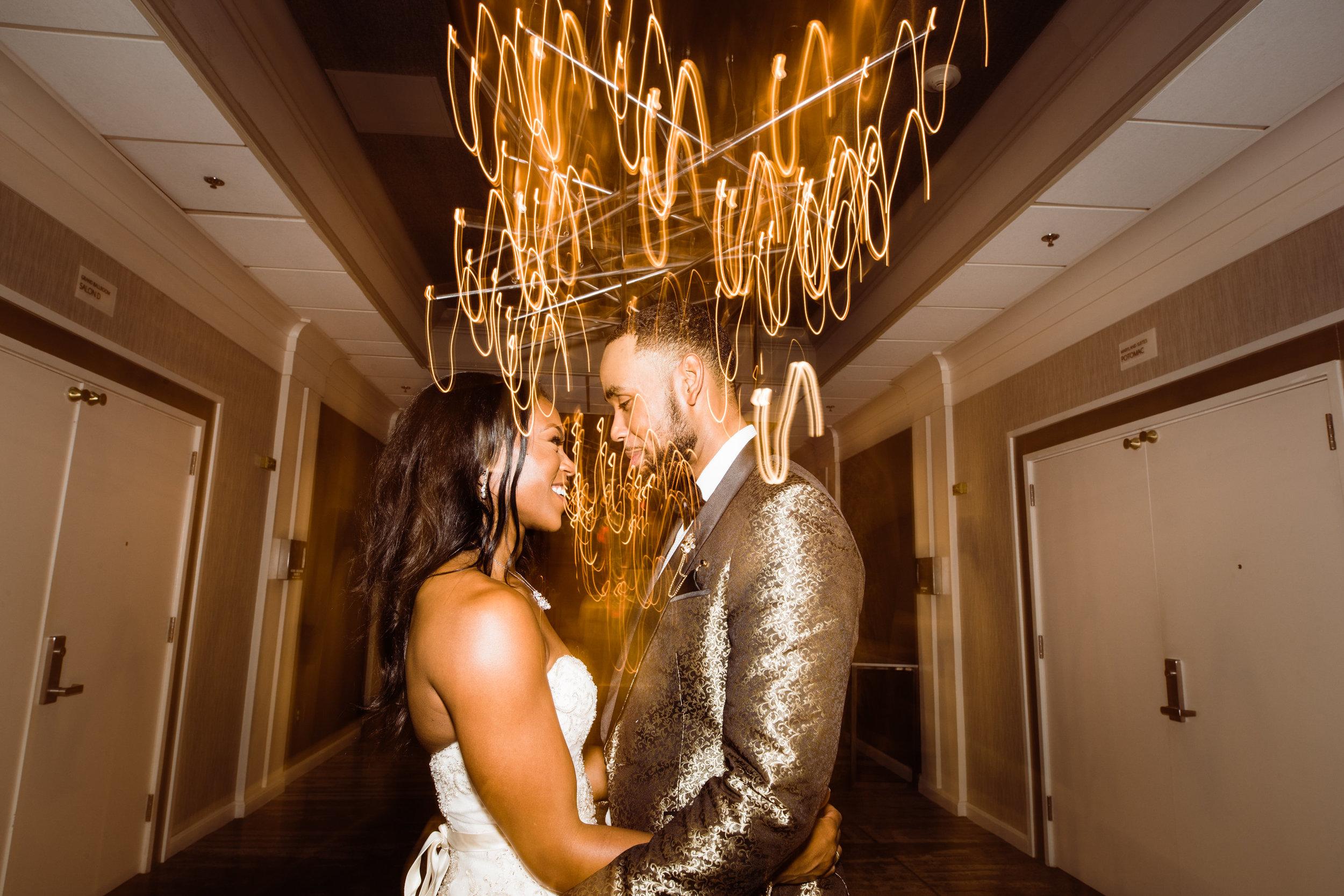 Black Wedding Photographer in Baltimore Megapixels Media creative black bride.jpg