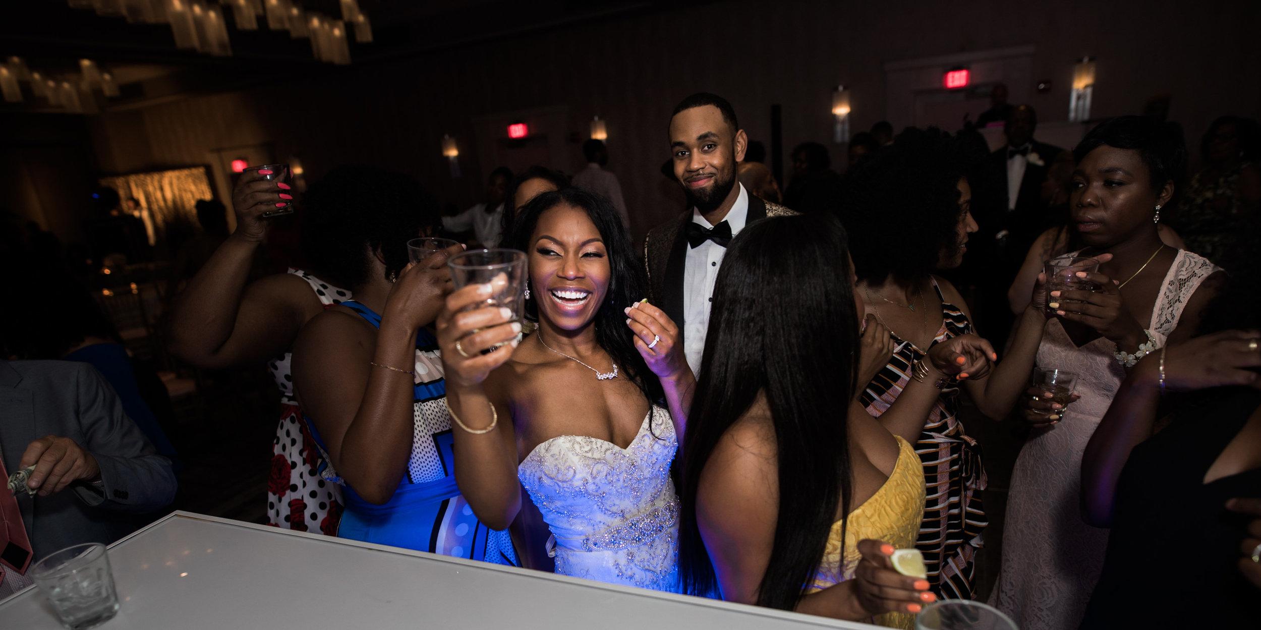Black Wedding Photographer in Baltimore Megapixels Media fun black bride.jpg