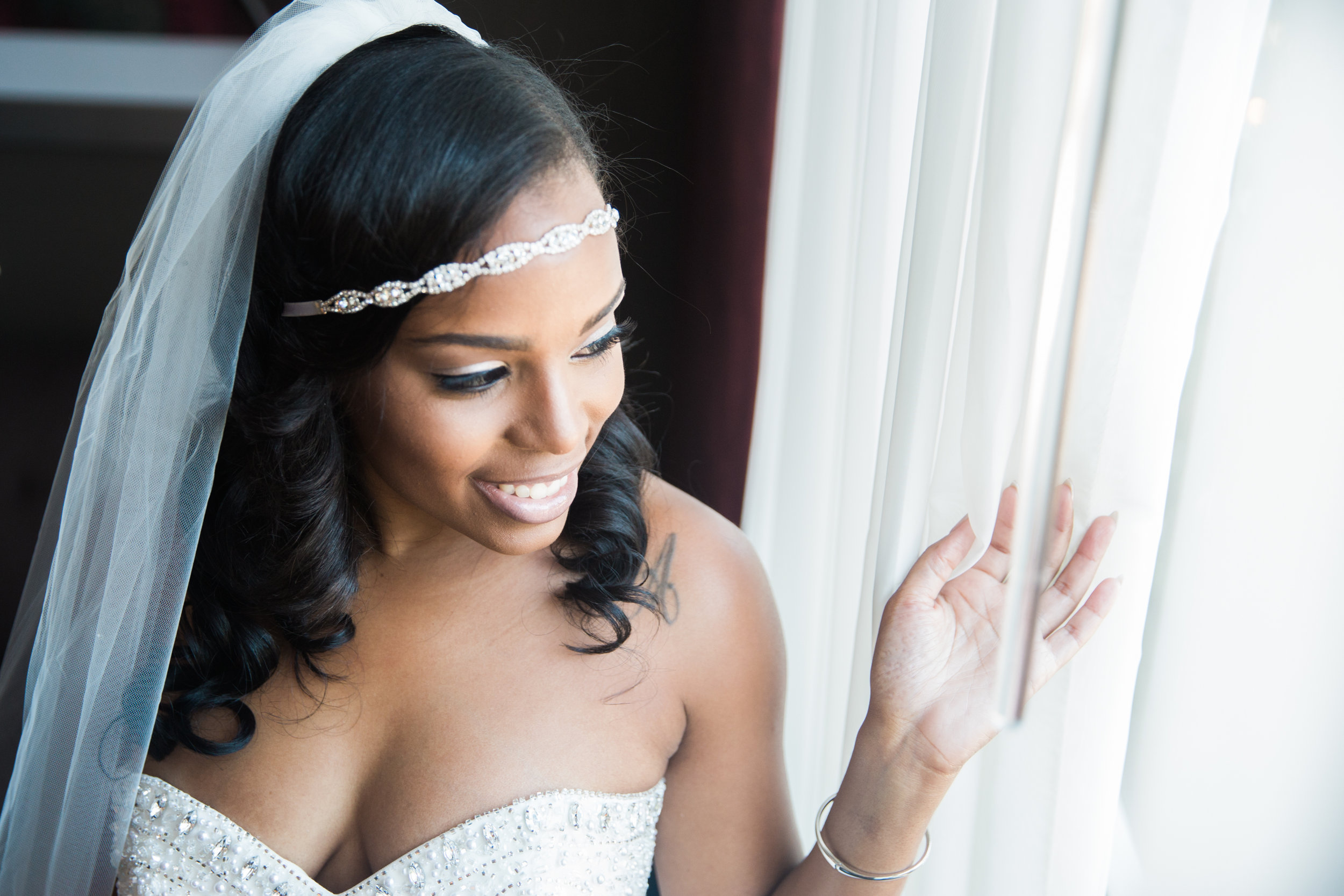 Black Wedding Photographer in Washington DC Megapixels Media black bride.jpg