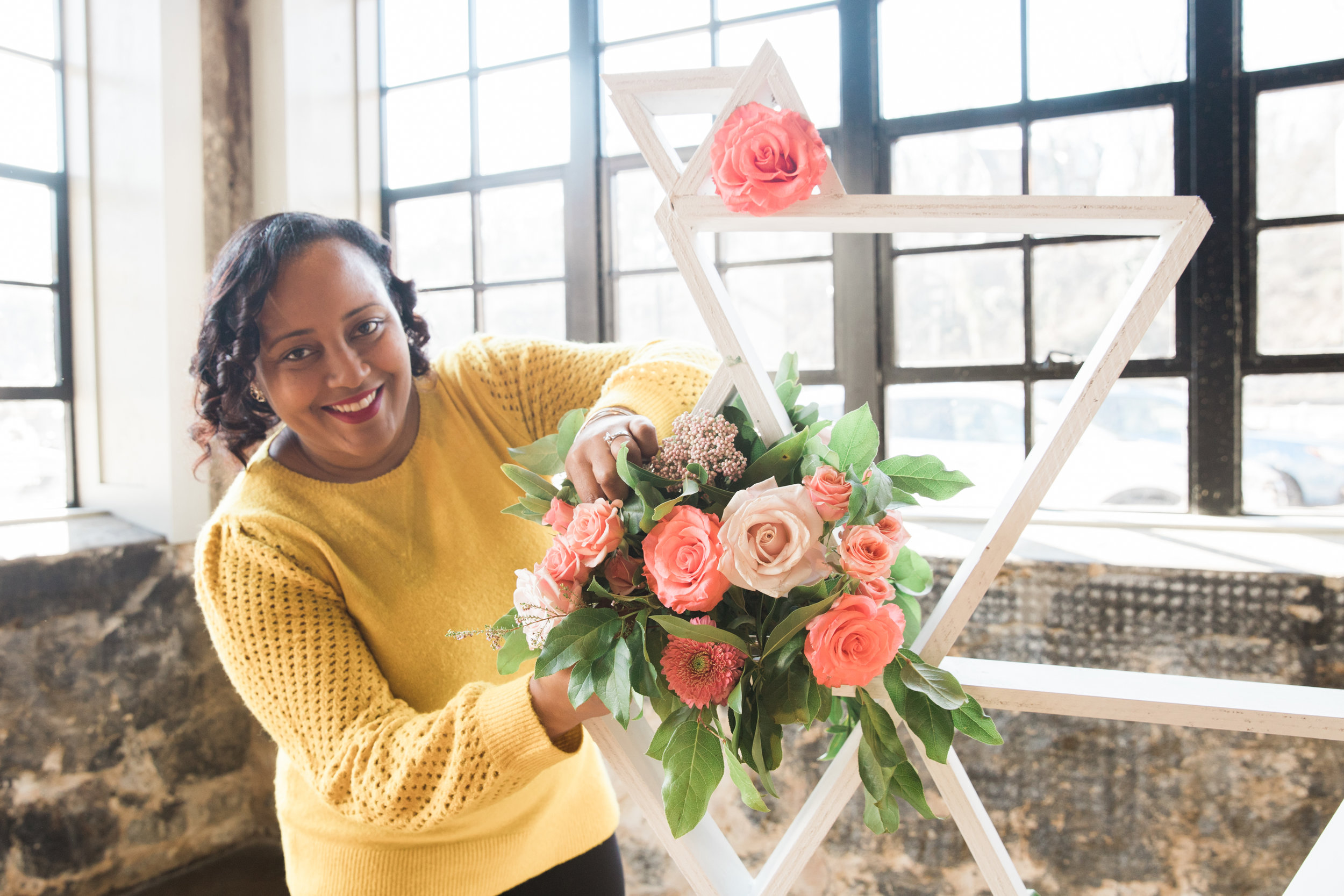 Black Woman Owned Wedding Florist in Baltimore Maryland Washington DC Mainstreet Ballroom Megapixels Media Photography -13.jpg