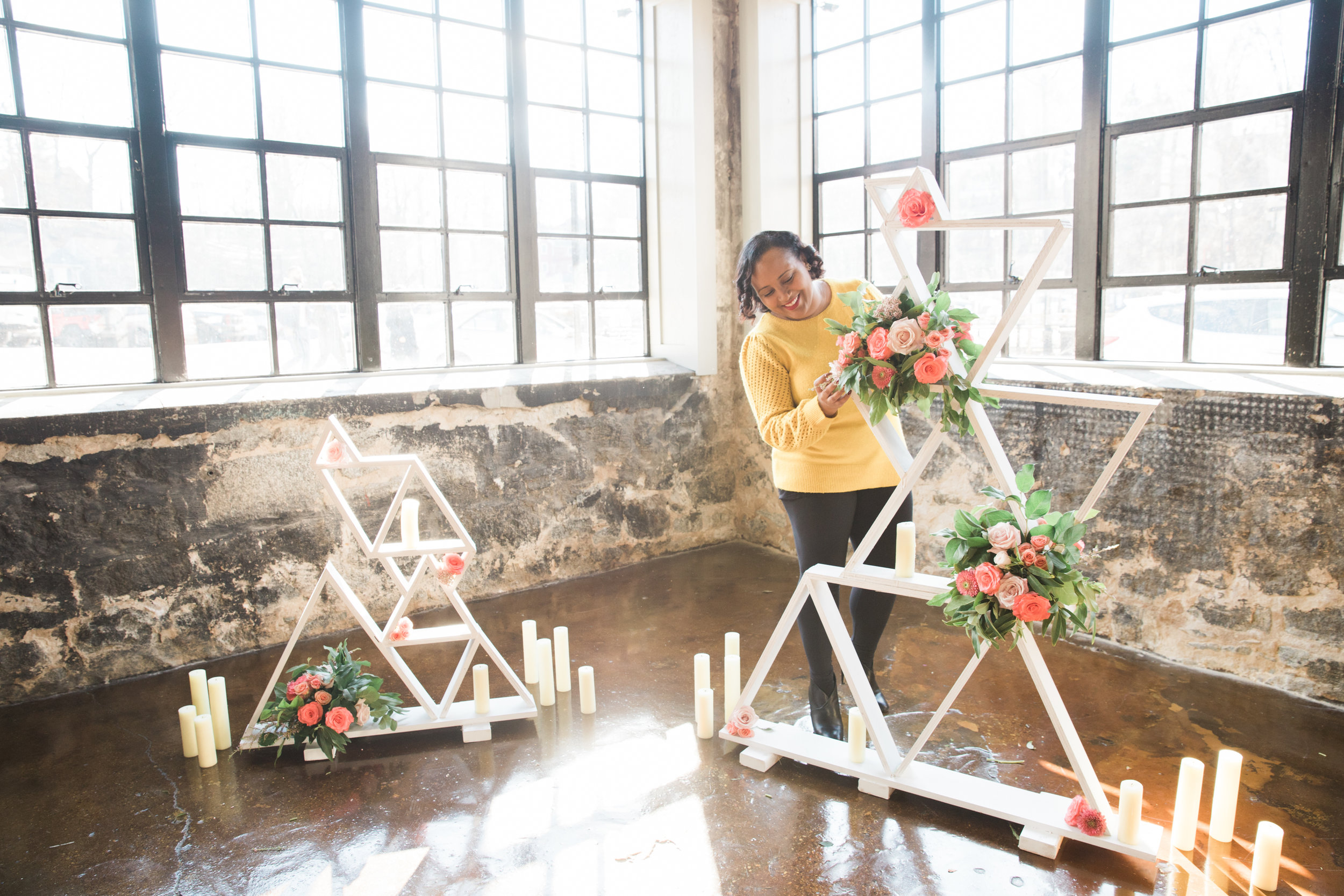 Black Woman Owned Wedding Florist in Baltimore Maryland Washington DC Mainstreet Ballroom Megapixels Media Photography -14.jpg