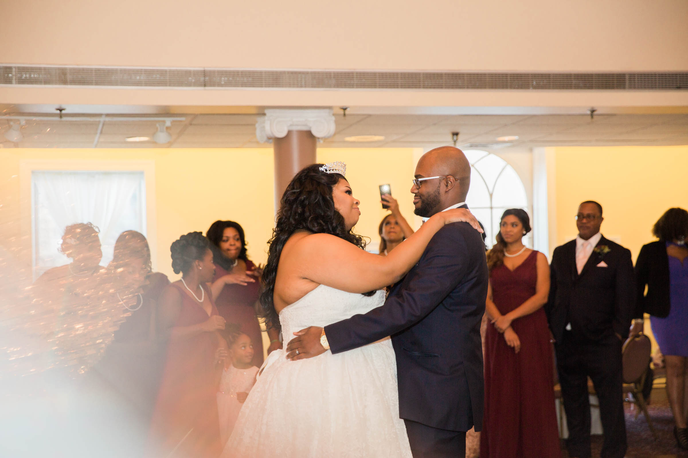 Royal Black Bride in Baltimore Preston Hall Black Wedding Photographers Megapixels Media Photography (1 of 73).jpg