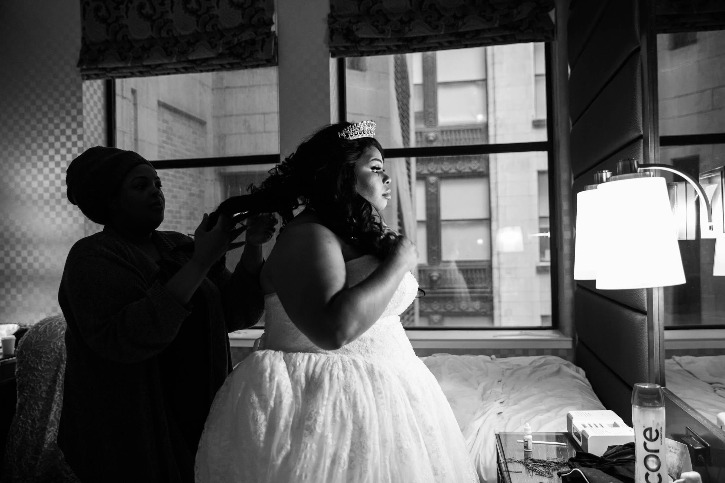 Royal Black Bride in Baltimore Preston Hall Black Wedding Photographers Megapixels Media Photography (13 of 73).jpg