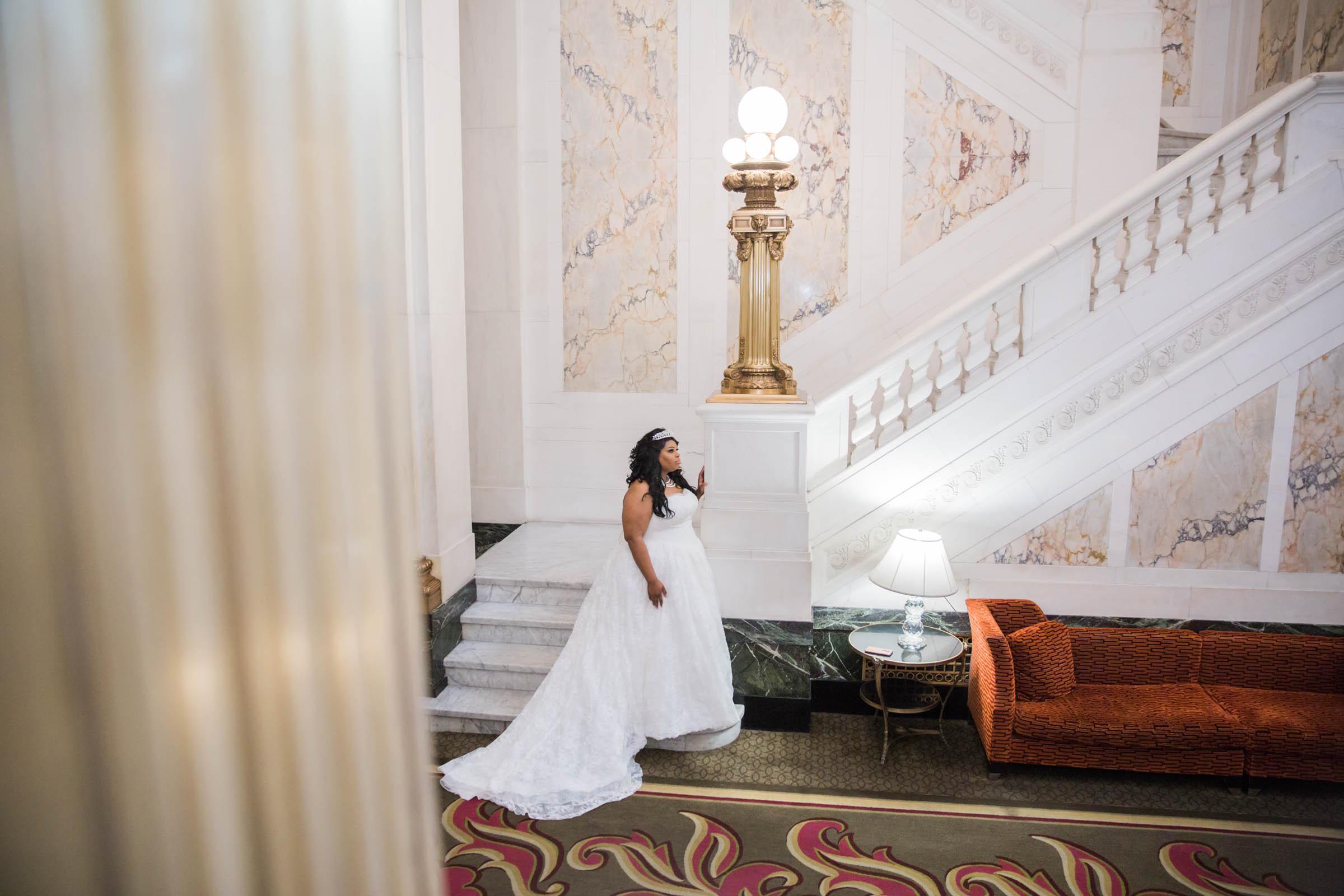 Royal Black Bride in Baltimore Preston Hall Black Wedding Photographers Megapixels Media Photography (14 of 73).jpg