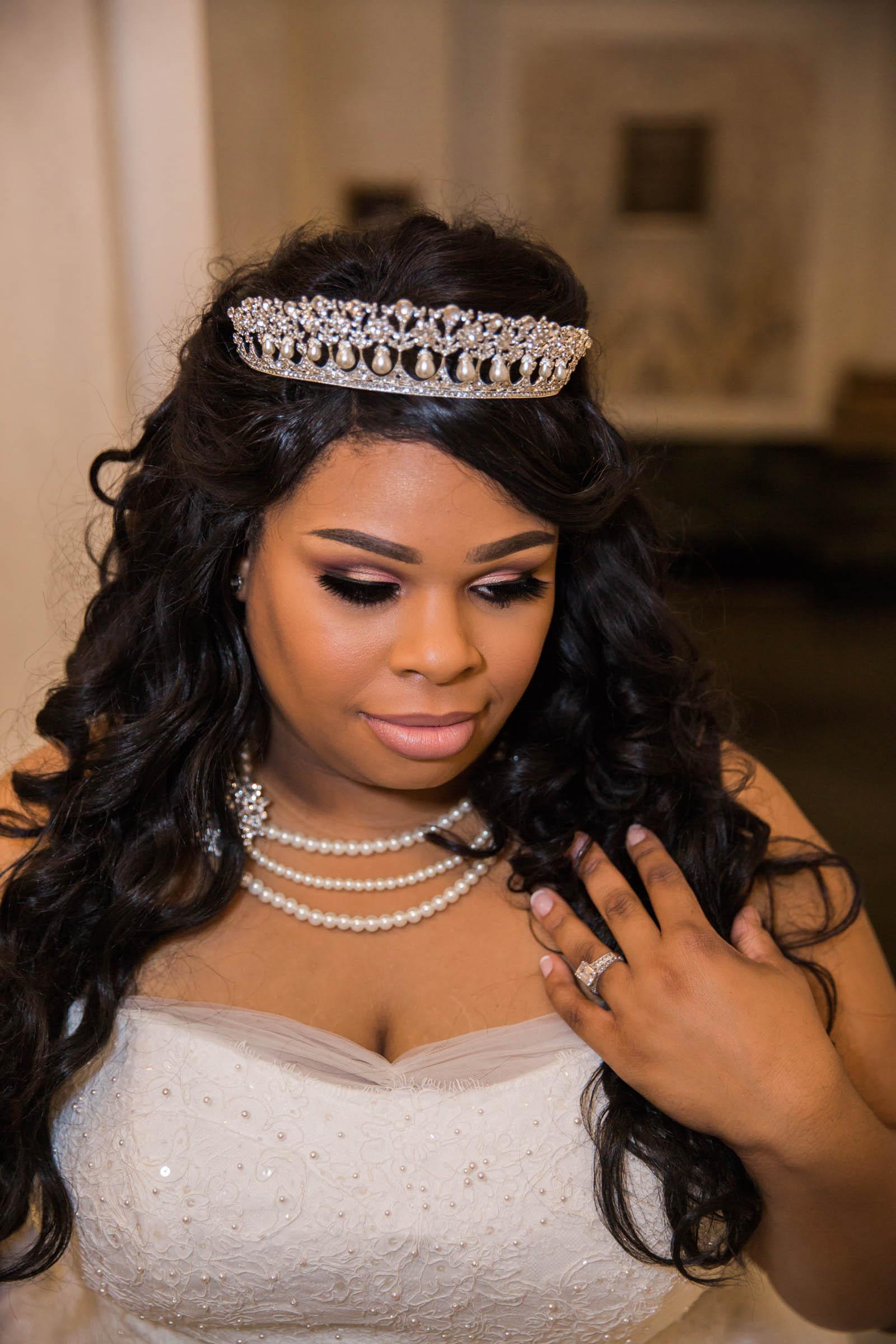 Royal Black Bride in Baltimore Preston Hall Black Wedding Photographers Megapixels Media Photography (15 of 73).jpg
