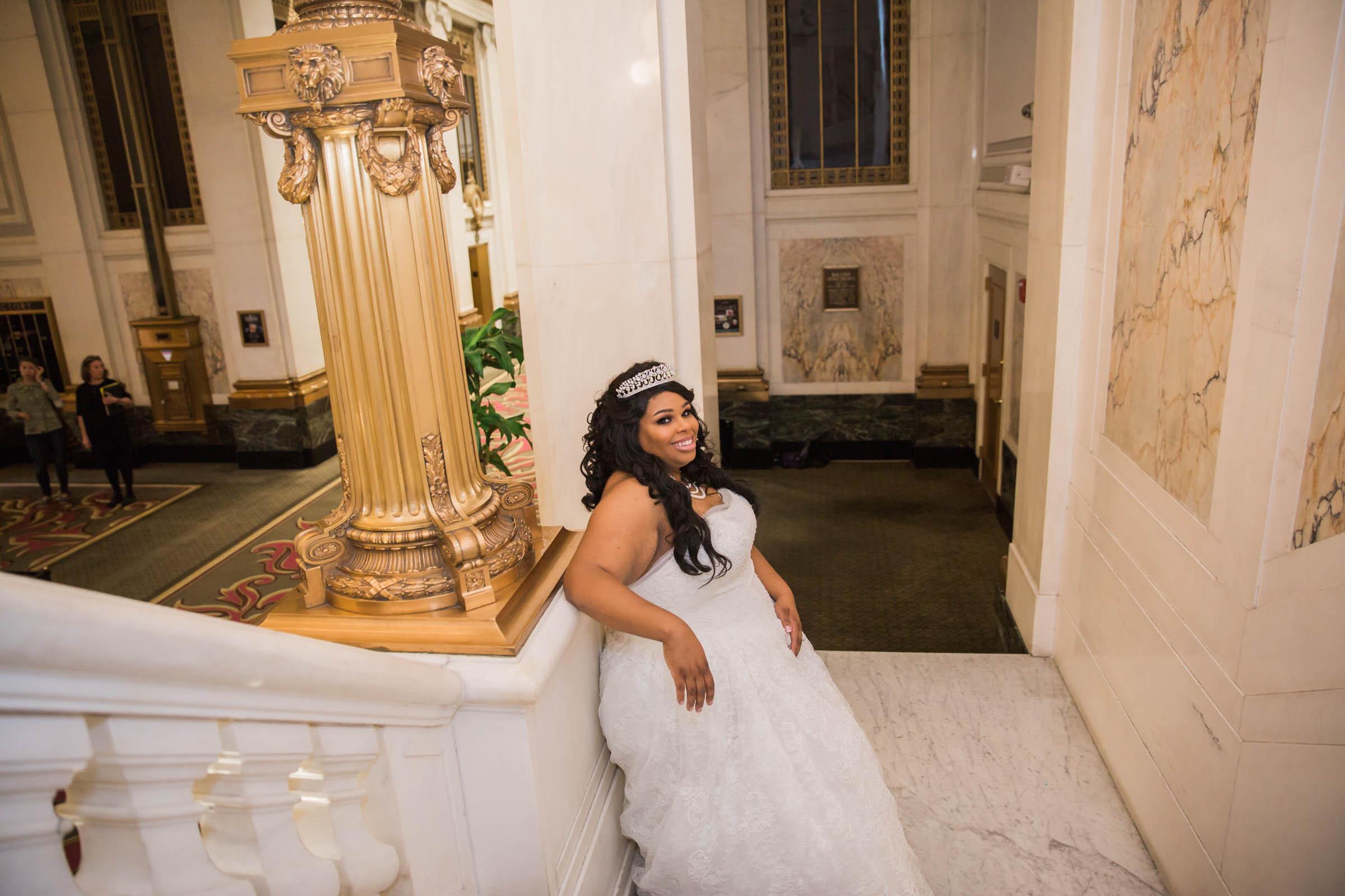 Royal Black Bride in Baltimore Preston Hall Black Wedding Photographers Megapixels Media Photography (16 of 73).jpg