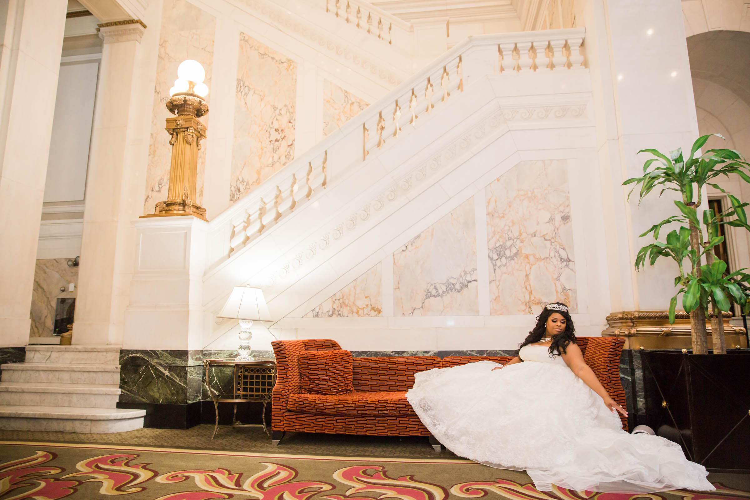 Royal Black Bride in Baltimore Preston Hall Black Wedding Photographers Megapixels Media Photography (17 of 73).jpg