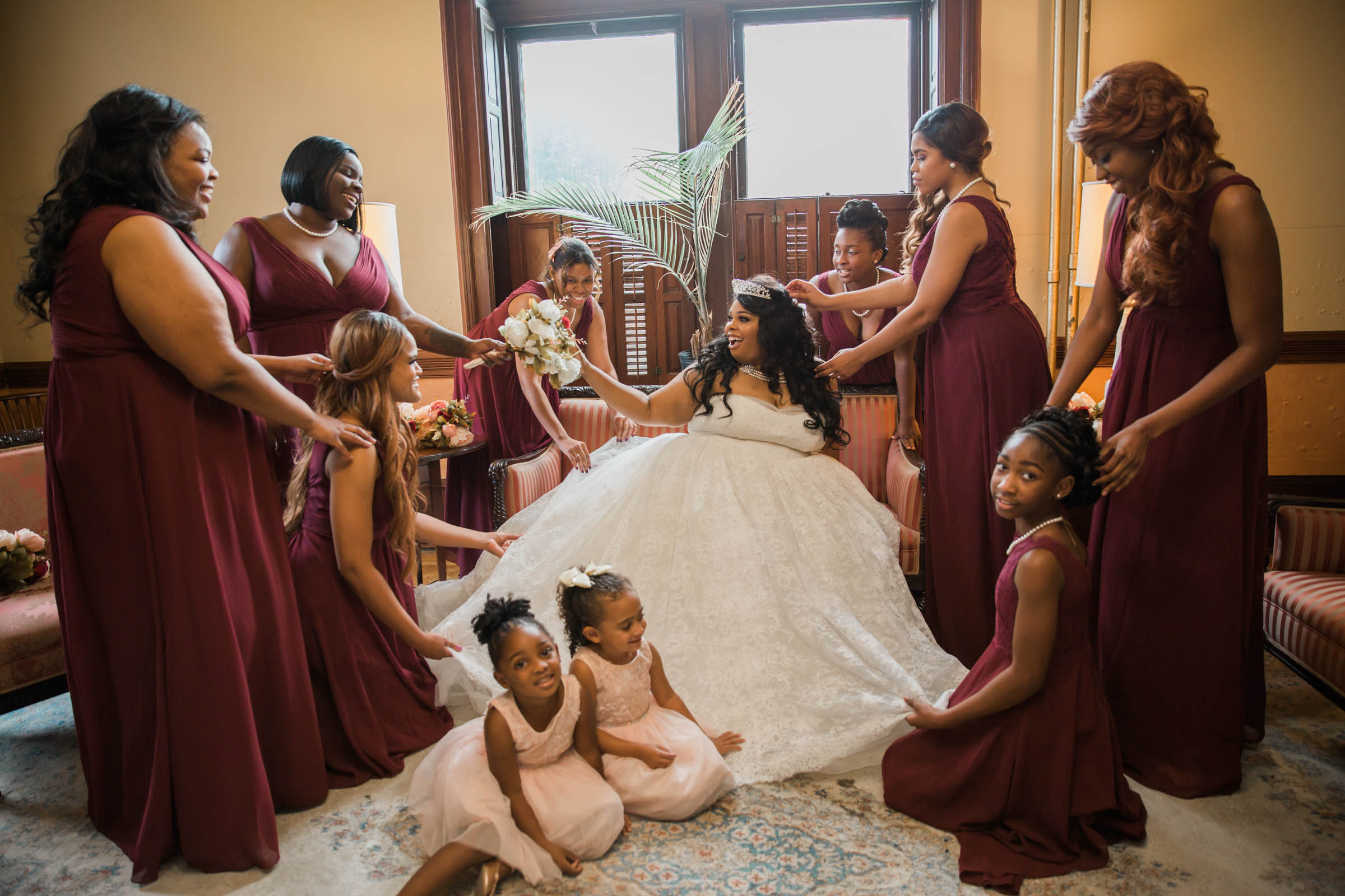 Royal Black Bride in Baltimore Preston Hall Black Wedding Photographers Megapixels Media Photography (33 of 73).jpg