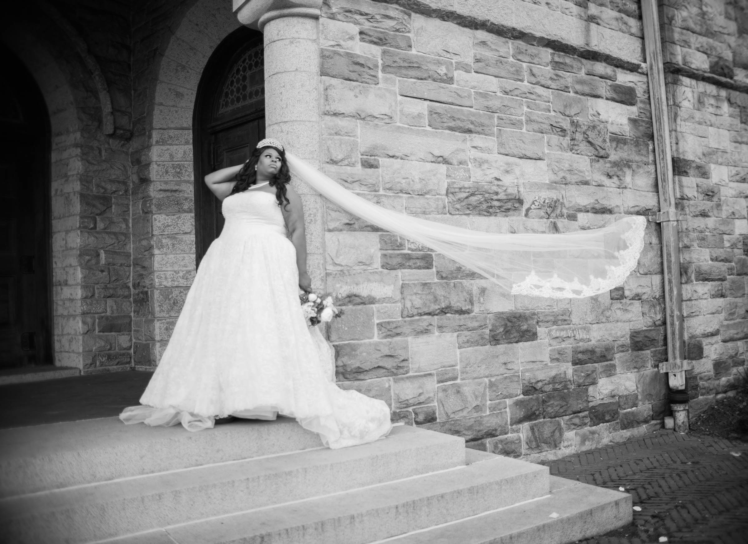 Royal Black Bride in Baltimore Preston Hall Black Wedding Photographers Megapixels Media Photography (51 of 73).jpg