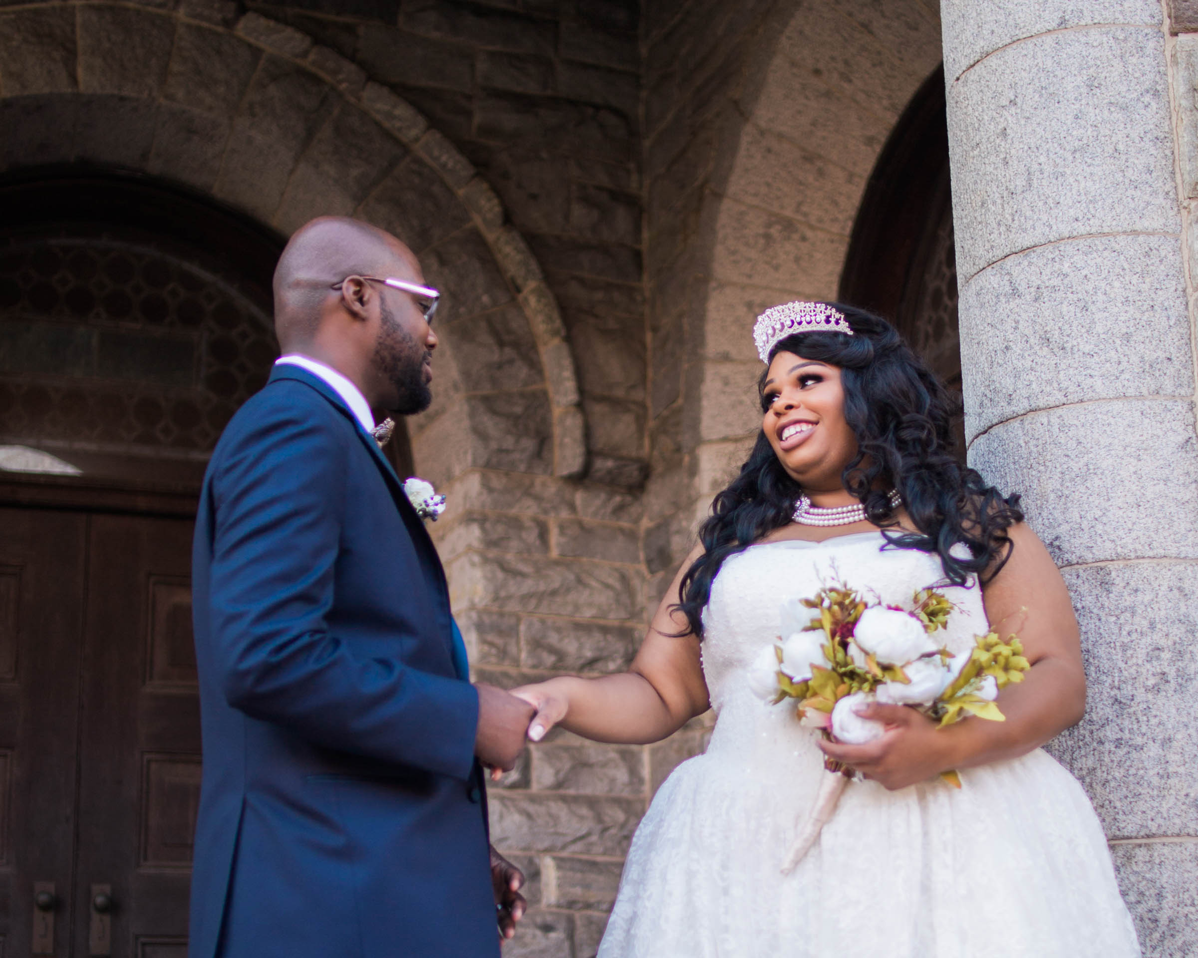 Royal Black Bride in Baltimore Preston Hall Black Wedding Photographers Megapixels Media Photography (55 of 73).jpg