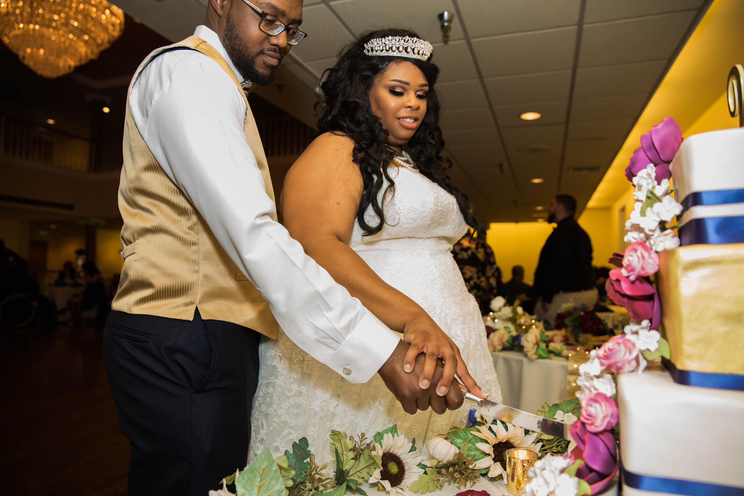 Royal Black Bride in Baltimore Preston Hall Black Wedding Photographers Megapixels Media Photography (69 of 73).jpg