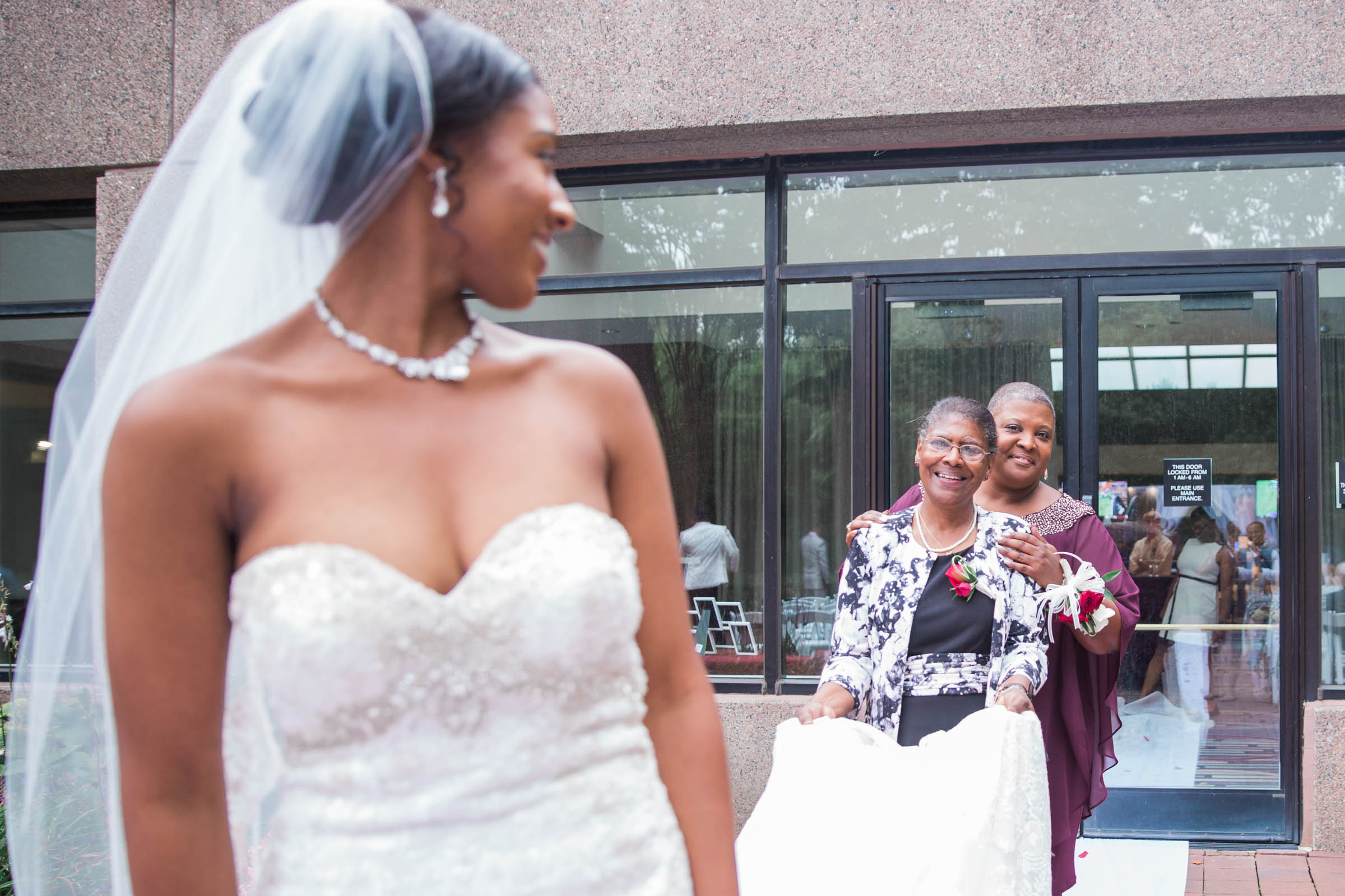 Black Bride Dream Wedding at  Hyatt Regency Fairfax Virginia Husband and Wife Wedding Photographers Megapixels Media Photography (61 of 104).jpg