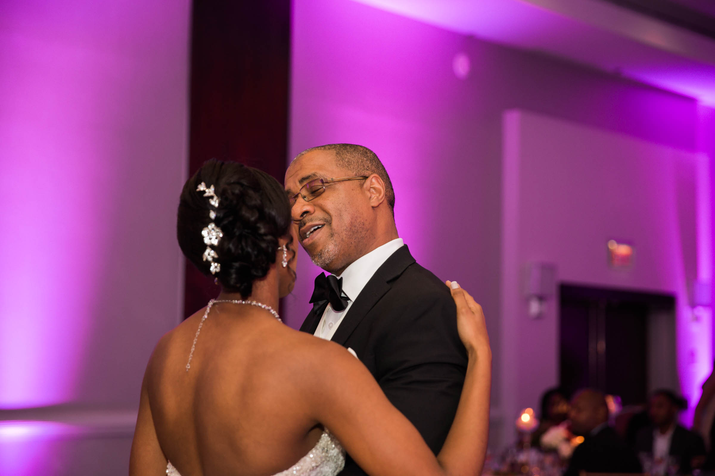 Black Bride Dream Wedding at  Hyatt Regency Fairfax Virginia Husband and Wife Wedding Photographers Megapixels Media Photography (80 of 104).jpg