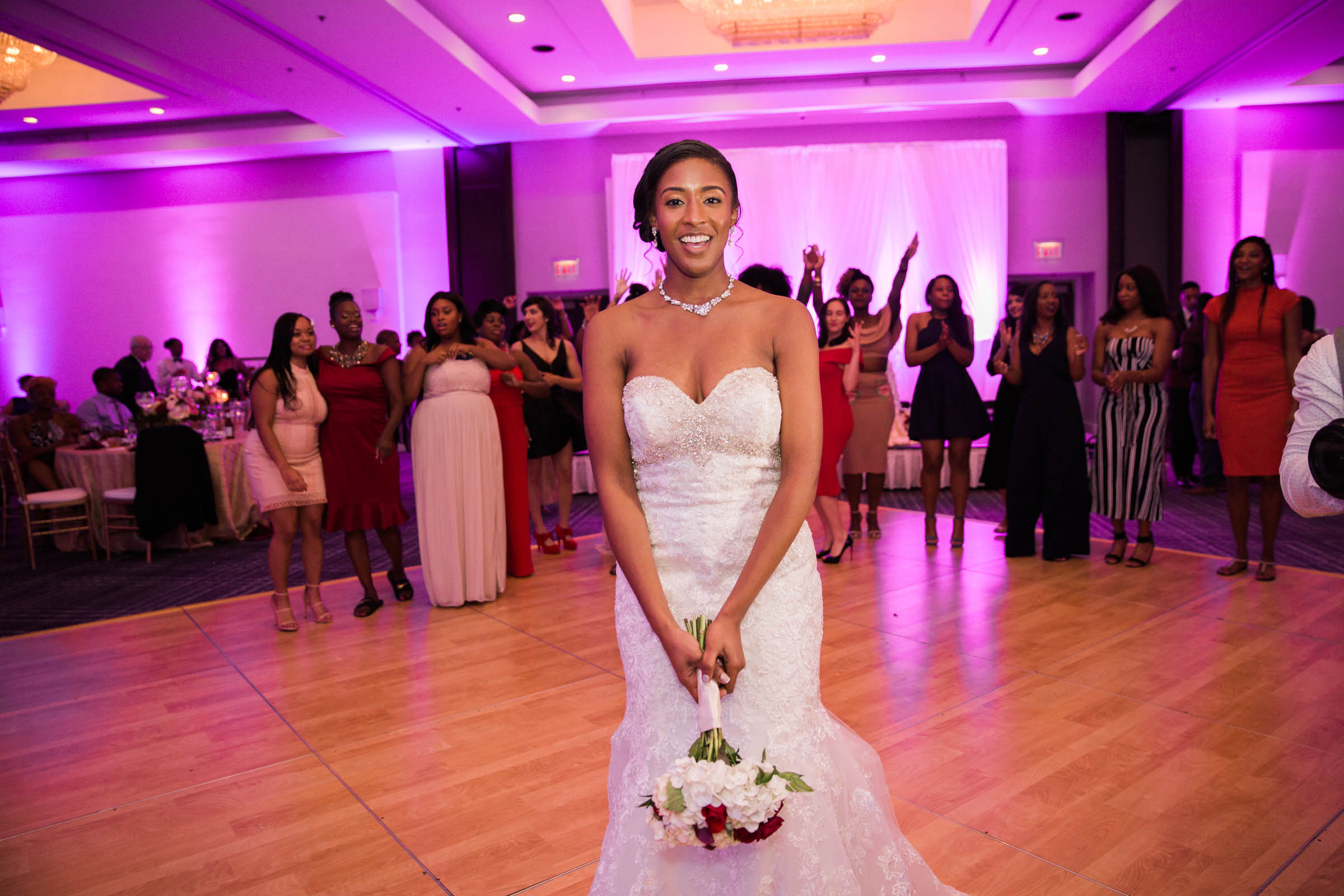 Black Bride Dream Wedding at  Hyatt Regency Fairfax Virginia Husband and Wife Wedding Photographers Megapixels Media Photography (87 of 104).jpg