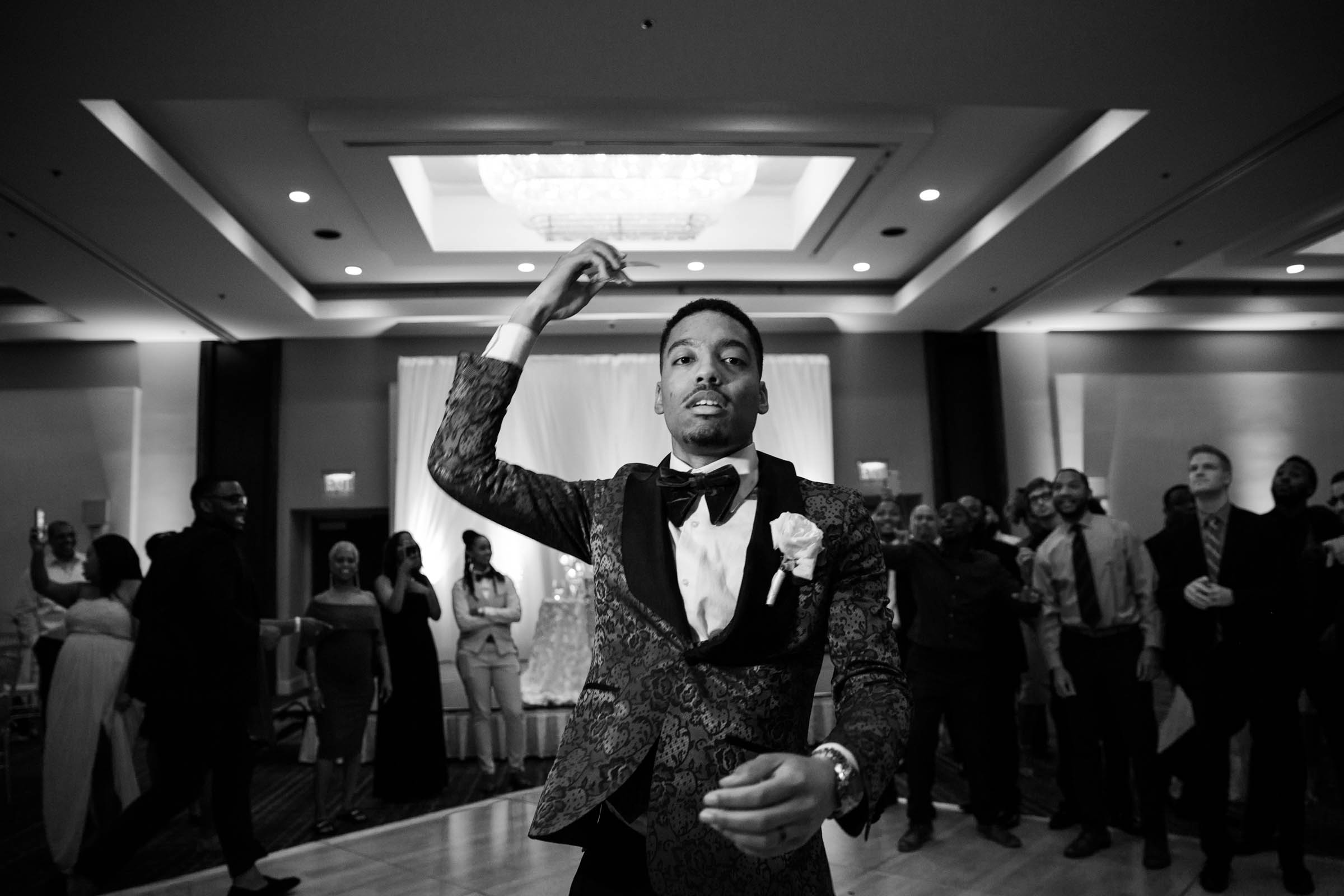 Black Bride Dream Wedding at  Hyatt Regency Fairfax Virginia Husband and Wife Wedding Photographers Megapixels Media Photography (95 of 104).jpg