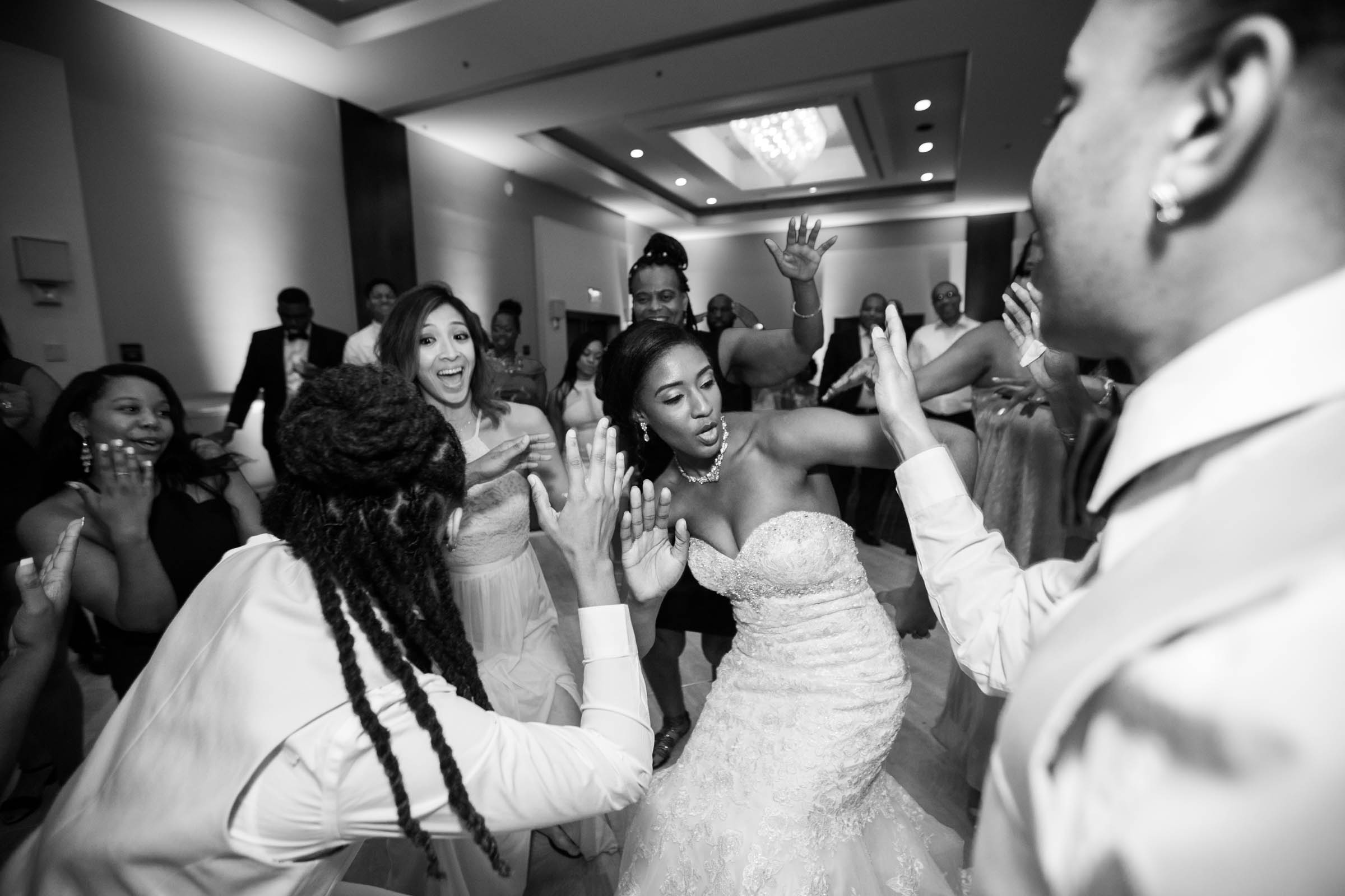 Black Bride Dream Wedding at  Hyatt Regency Fairfax Virginia Husband and Wife Wedding Photographers Megapixels Media Photography (97 of 104).jpg