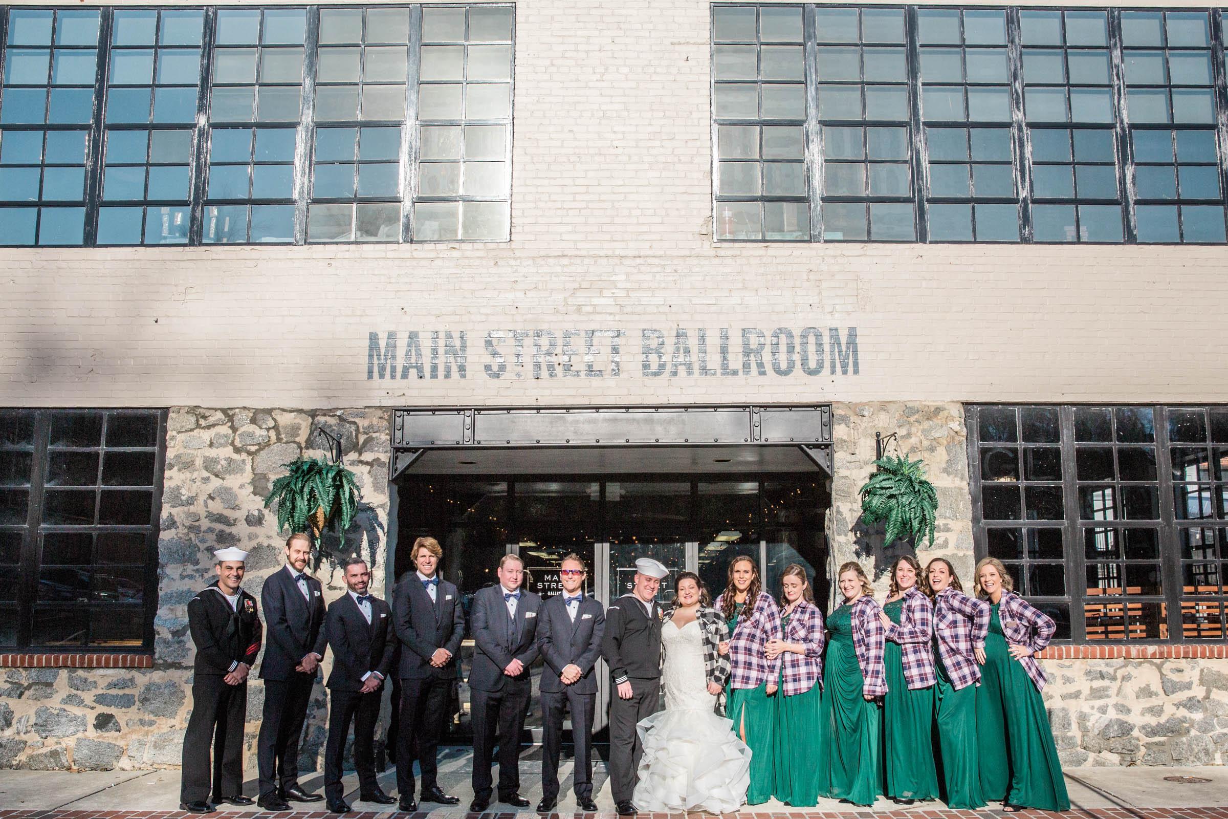 Main Street Ballroom Ellicott City Wedding Curvy Bride Baltimore Maryland Wedding Photographers (39 of 111).jpg