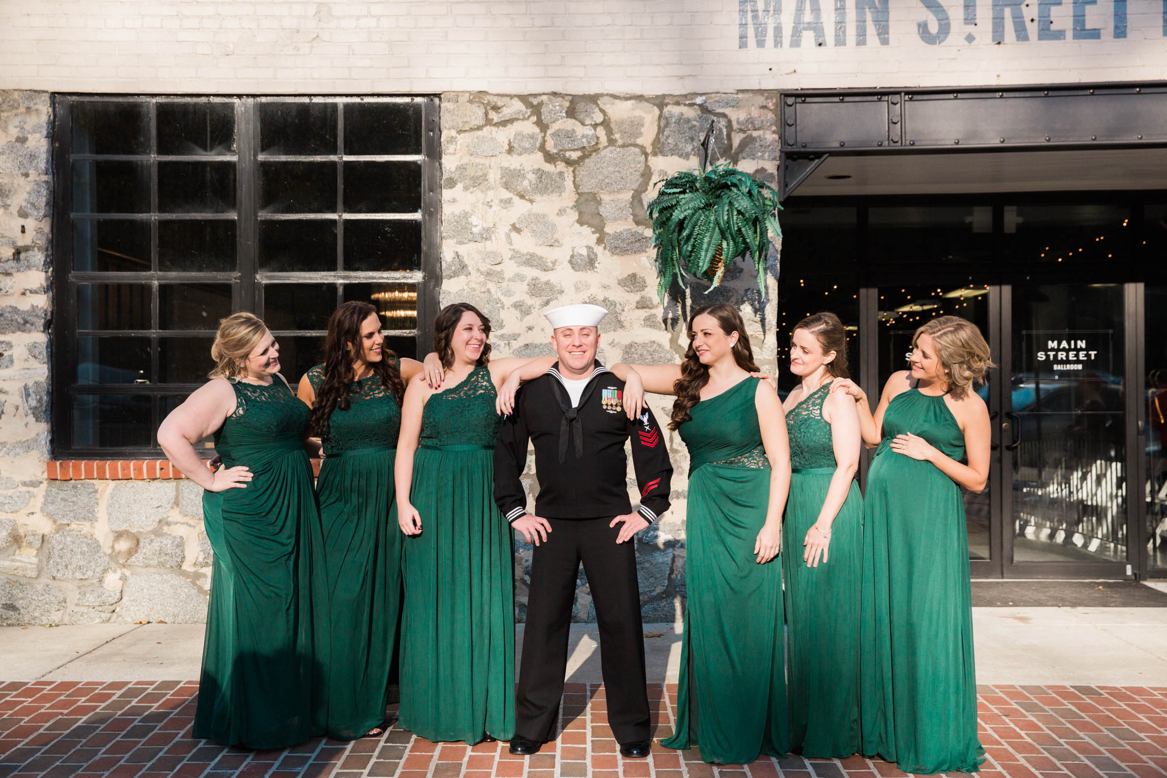 Main Street Ballroom Ellicott City Wedding Curvy Bride Baltimore Maryland Wedding Photographers (45 of 111).jpg