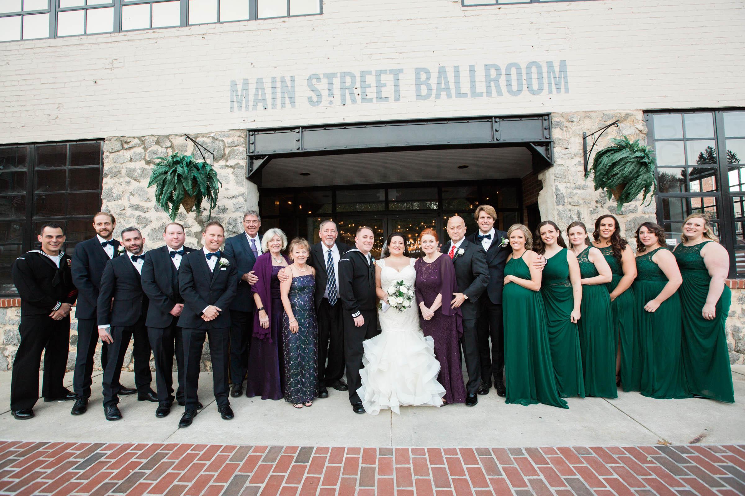Main Street Ballroom Ellicott City Wedding Curvy Bride Baltimore Maryland Wedding Photographers (48 of 111).jpg