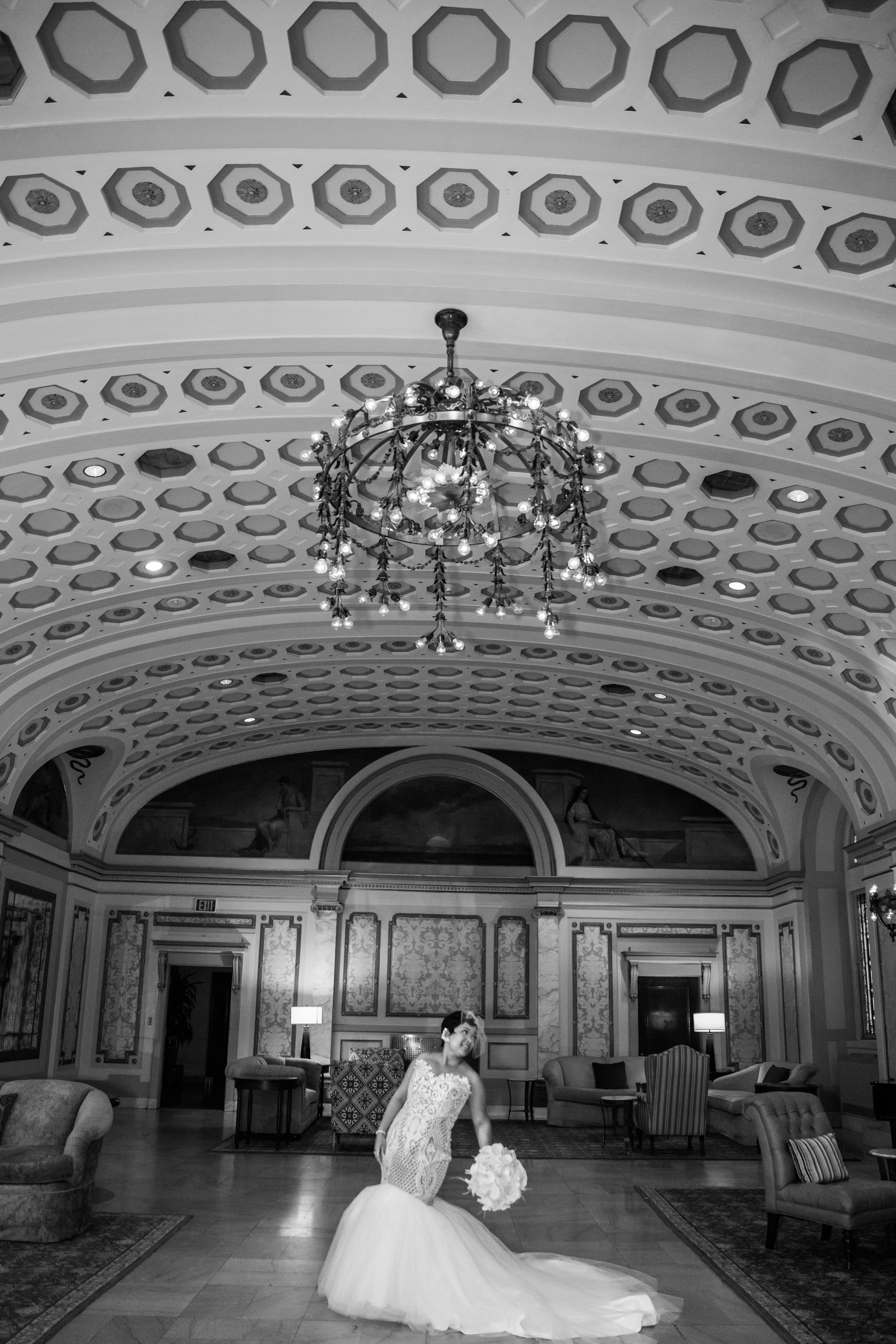 Best Classic Black Bride at The Grand Baltimore Maryland Husband and Wife Wedding Photographers Megapixels Media (26 of 98).jpg