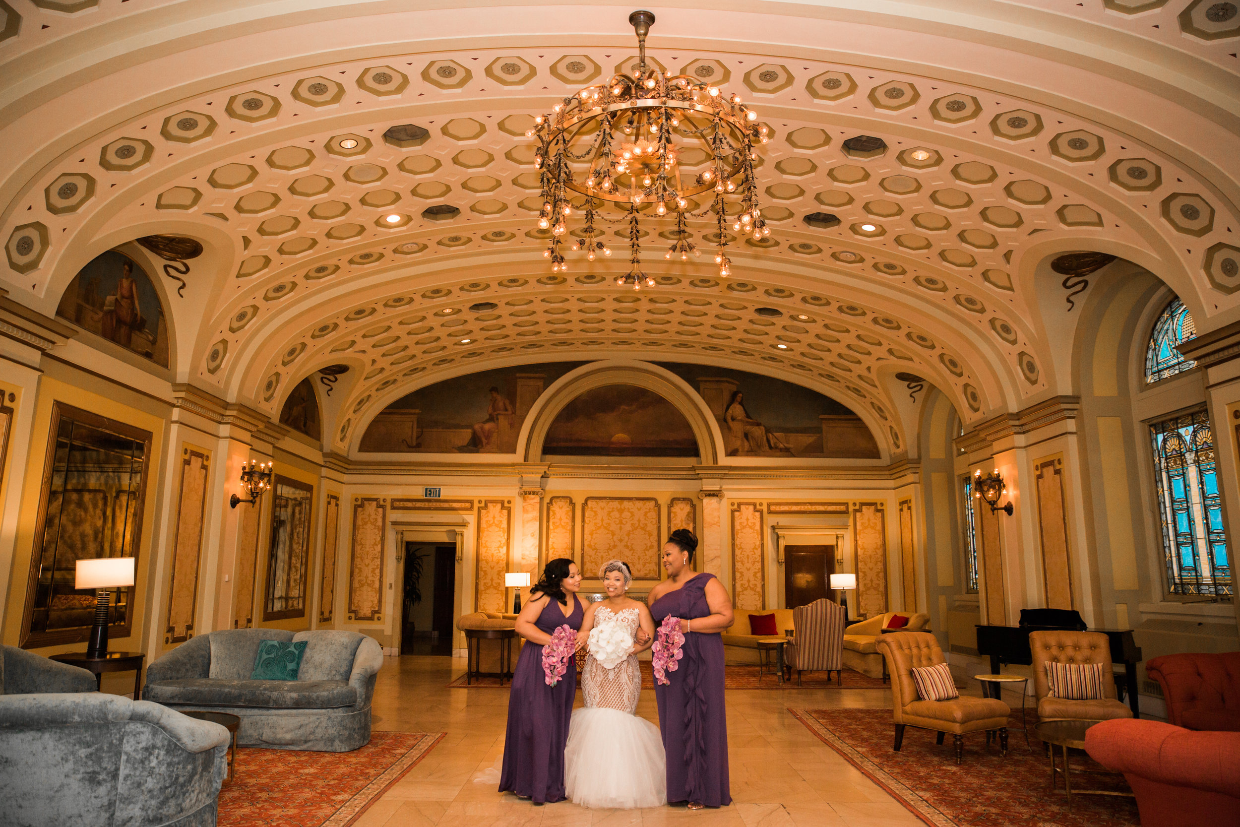 Best Classic Black Bride at The Grand Baltimore Maryland Husband and Wife Wedding Photographers Megapixels Media (29 of 98).jpg