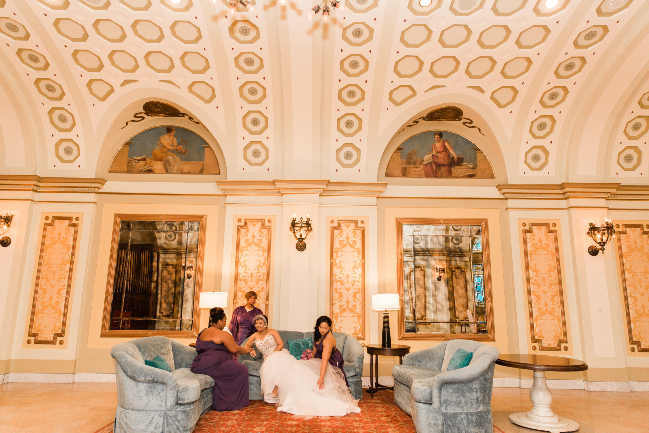 Best Classic Black Bride at The Grand Baltimore Maryland Husband and Wife Wedding Photographers Megapixels Media (32 of 98).jpg