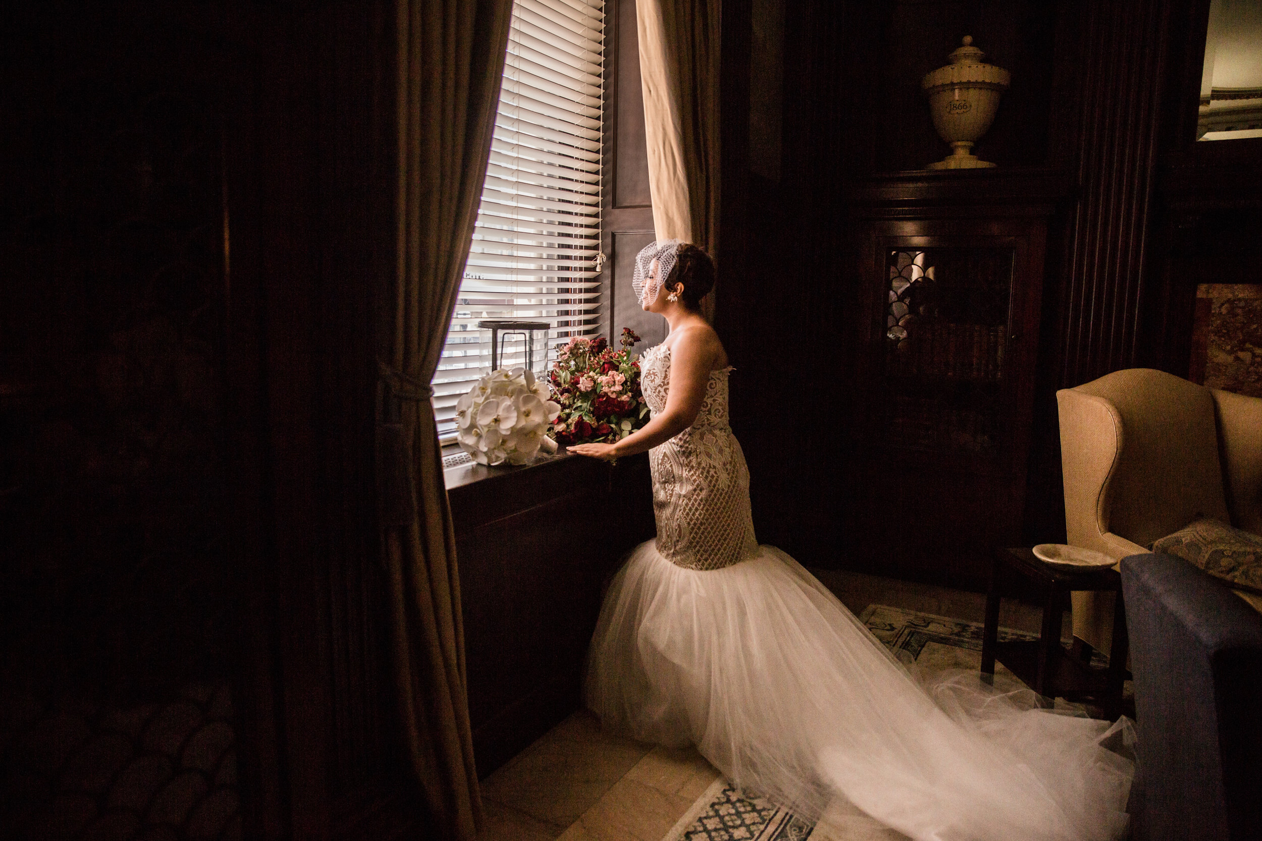 Best Classic Black Bride at The Grand Baltimore Maryland Husband and Wife Wedding Photographers Megapixels Media (33 of 98).jpg