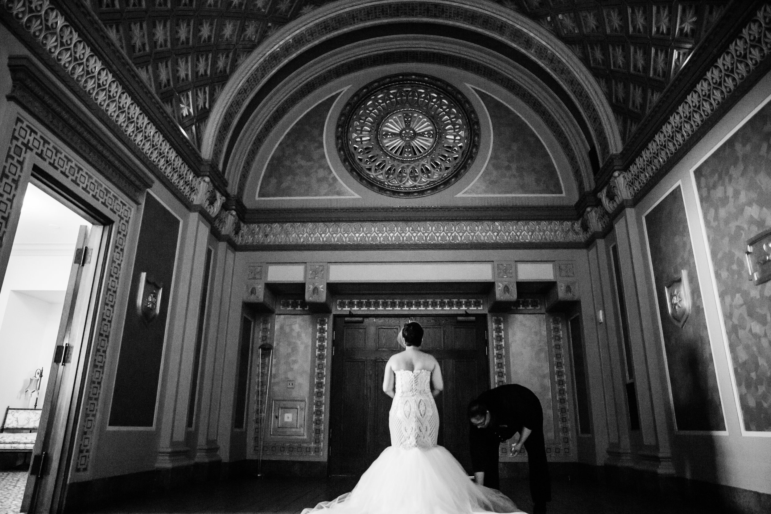 Best Classic Black Bride at The Grand Baltimore Maryland Husband and Wife Wedding Photographers Megapixels Media (41 of 98).jpg