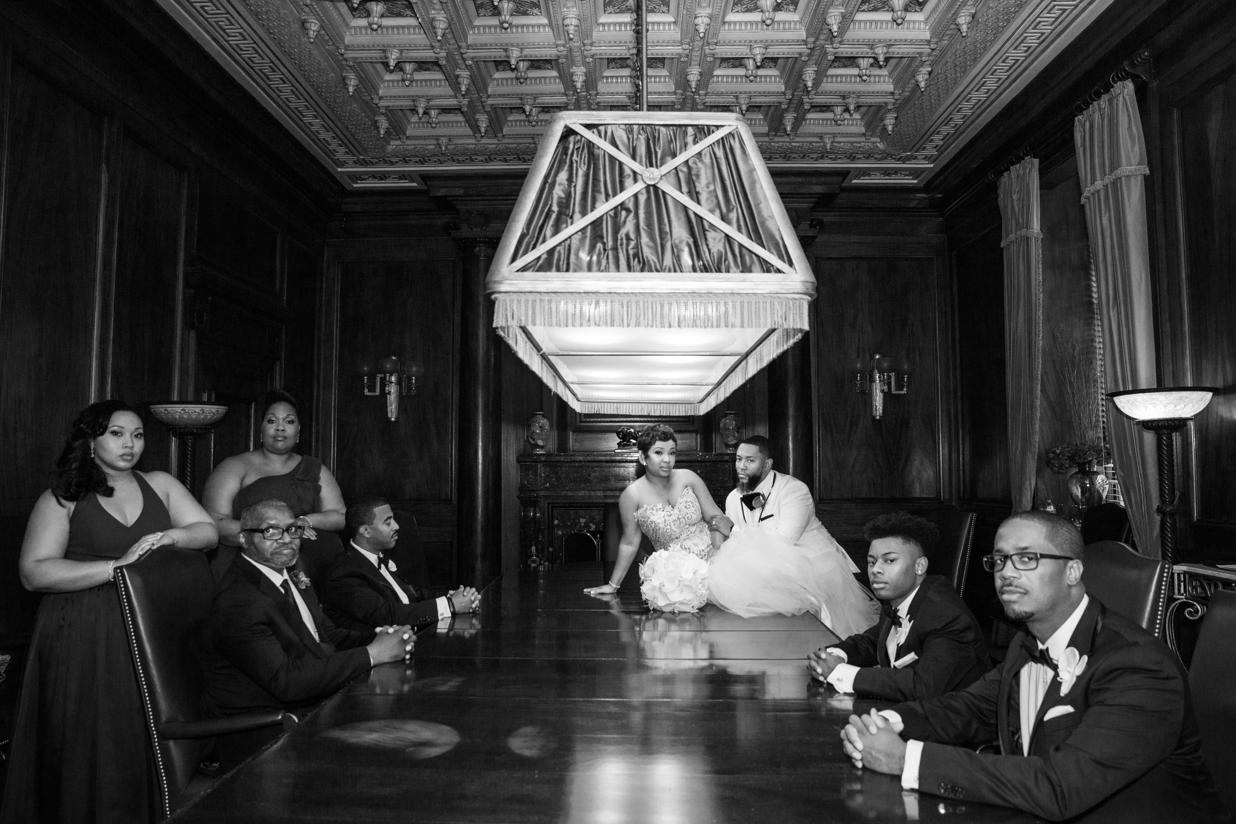 Best Classic Black Bride at The Grand Baltimore Maryland Husband and Wife Wedding Photographers Megapixels Media (55 of 98).jpg