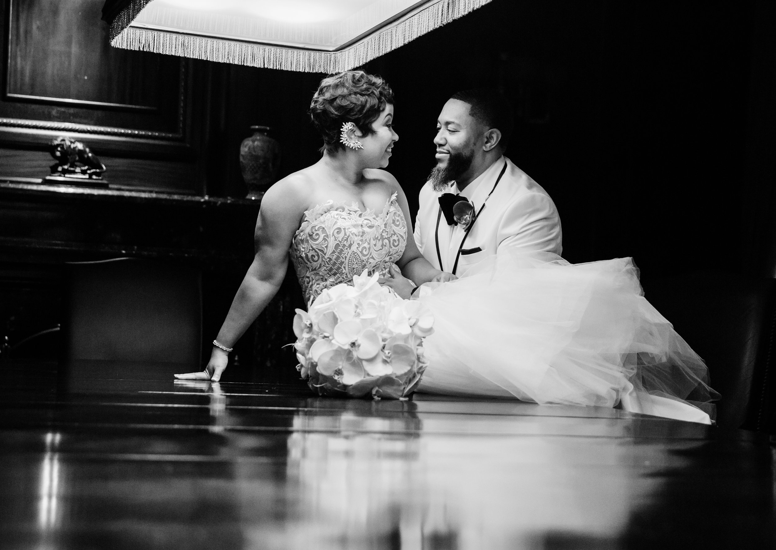 Best Classic Black Bride at The Grand Baltimore Maryland Husband and Wife Wedding Photographers Megapixels Media (58 of 98).jpg