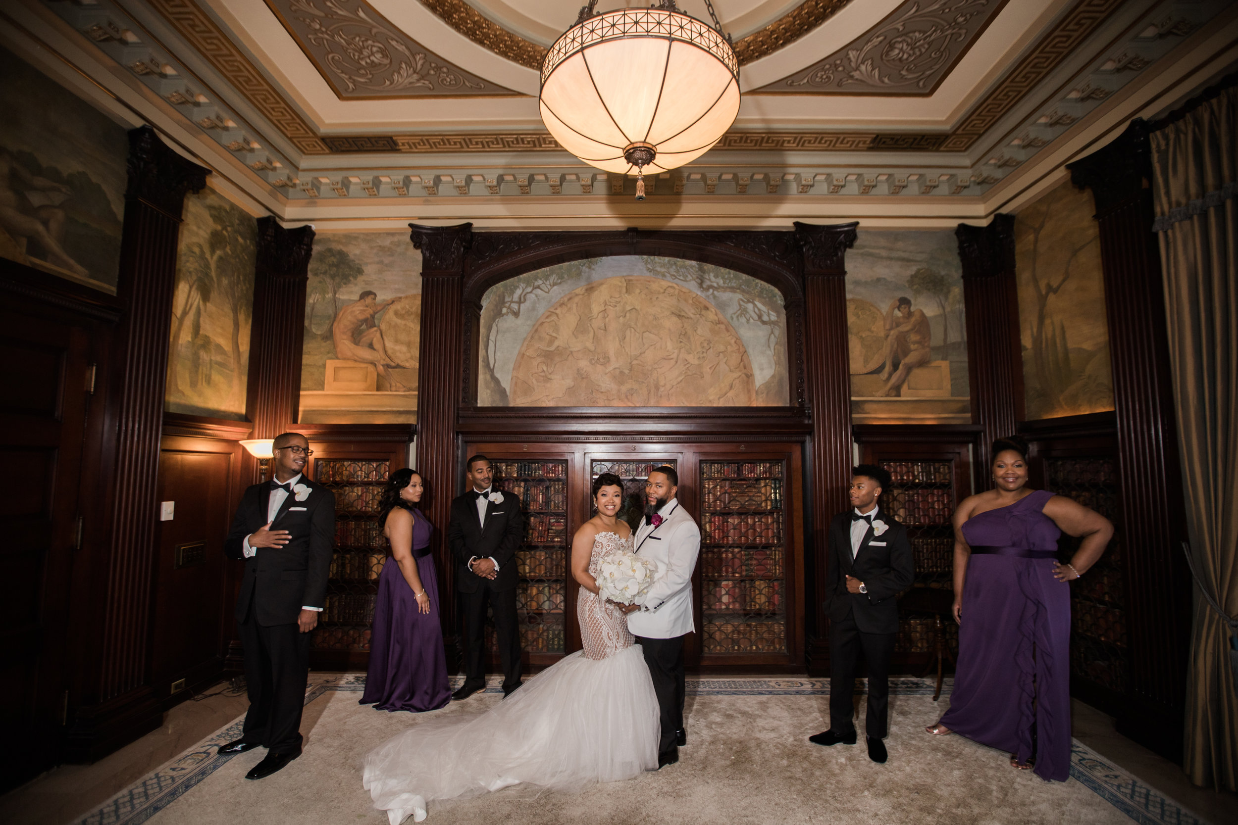 Best Classic Black Bride at The Grand Baltimore Maryland Husband and Wife Wedding Photographers Megapixels Media (62 of 98).jpg