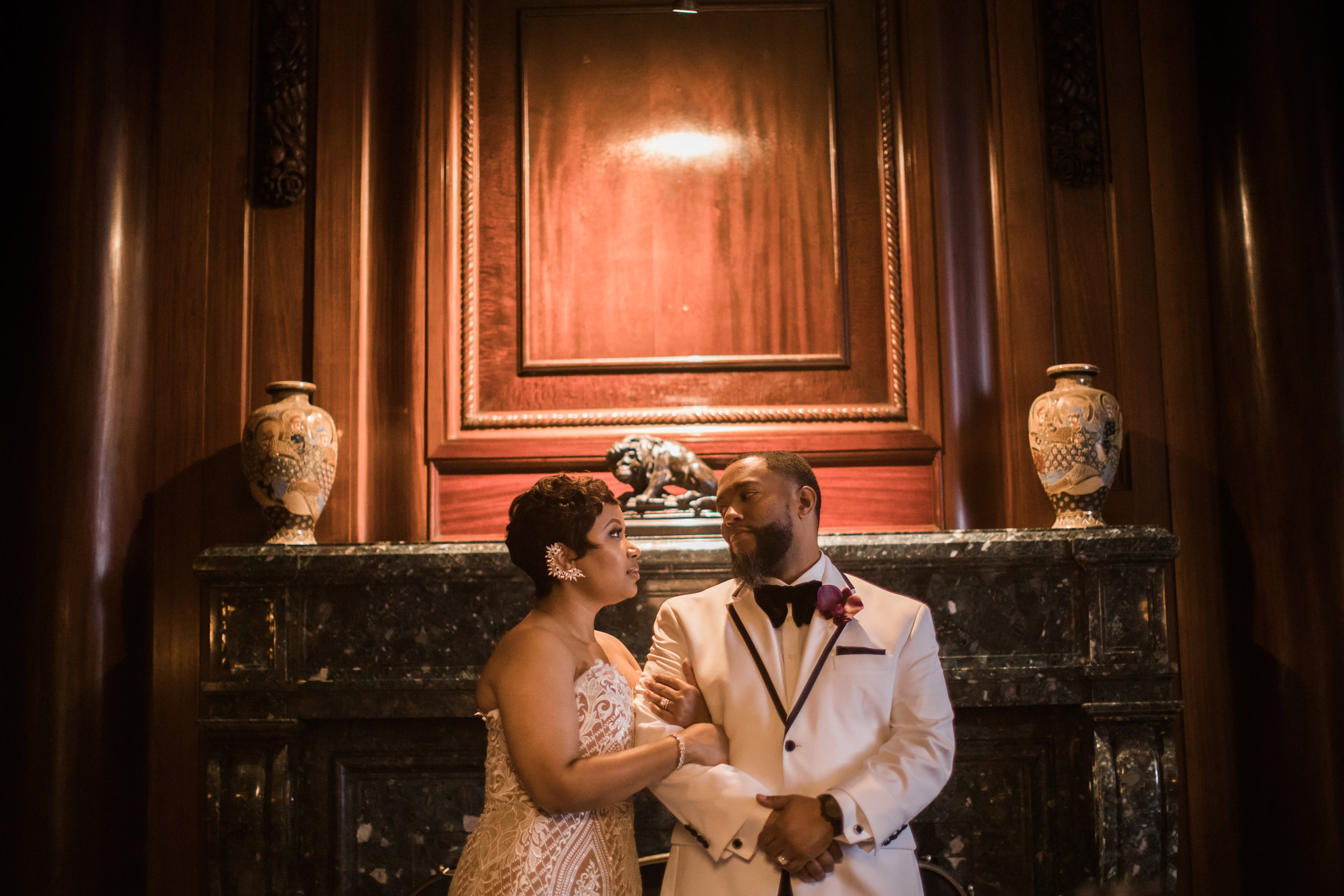 Best Classic Black Bride at The Grand Baltimore Maryland Husband and Wife Wedding Photographers Megapixels Media (65 of 98).jpg
