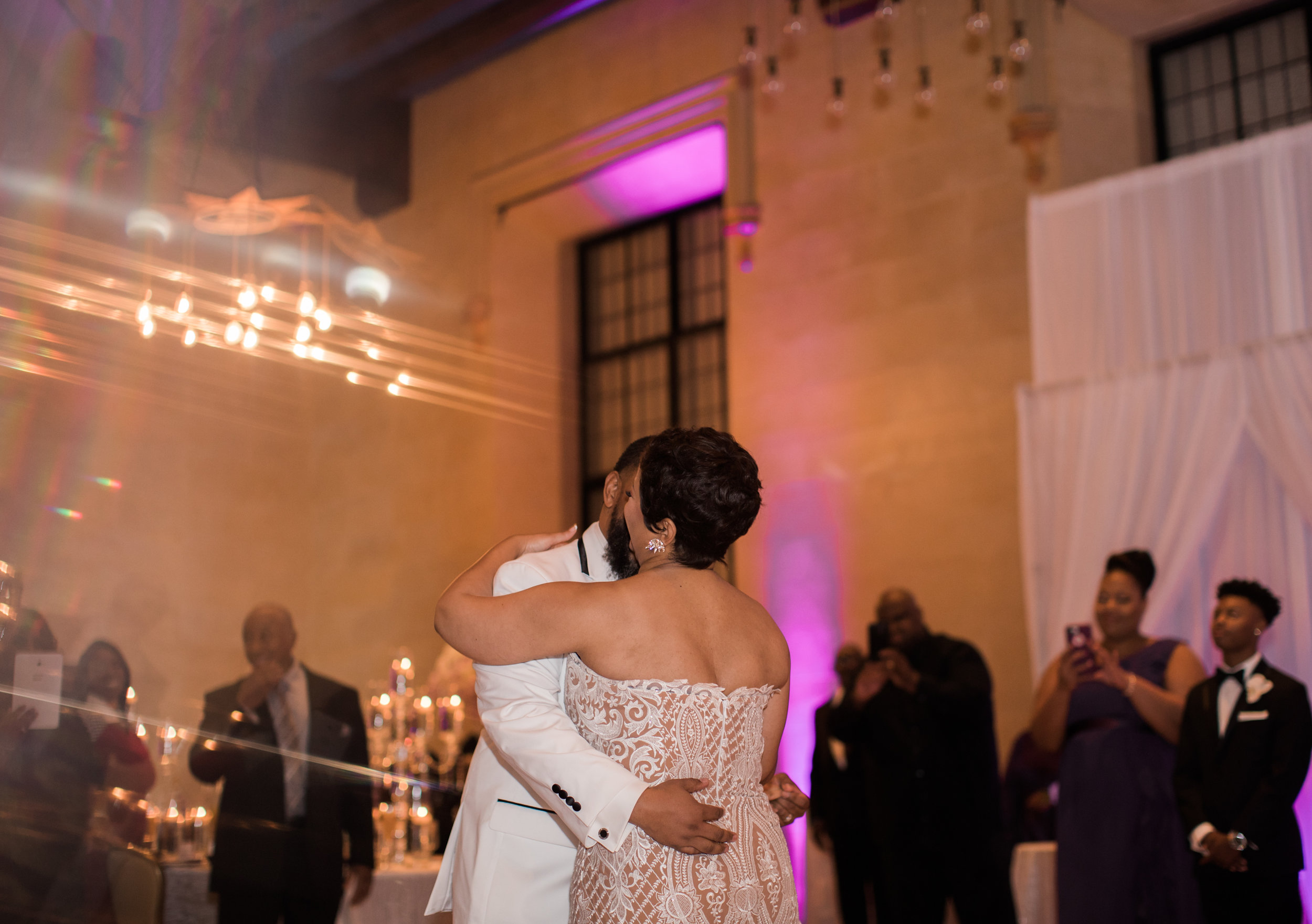 Best Classic Black Bride at The Grand Baltimore Maryland Husband and Wife Wedding Photographers Megapixels Media (76 of 98).jpg