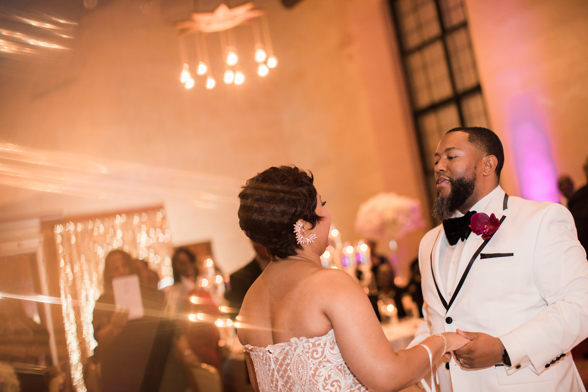 Best Classic Black Bride at The Grand Baltimore Maryland Husband and Wife Wedding Photographers Megapixels Media (78 of 98).jpg